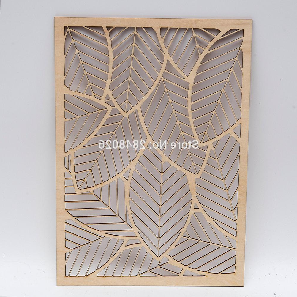 Flowing Leaves Wall Decor Inside 2020 Detail Feedback Questions About Rustic Wooden Falling Leaves Wall (View 8 of 20)