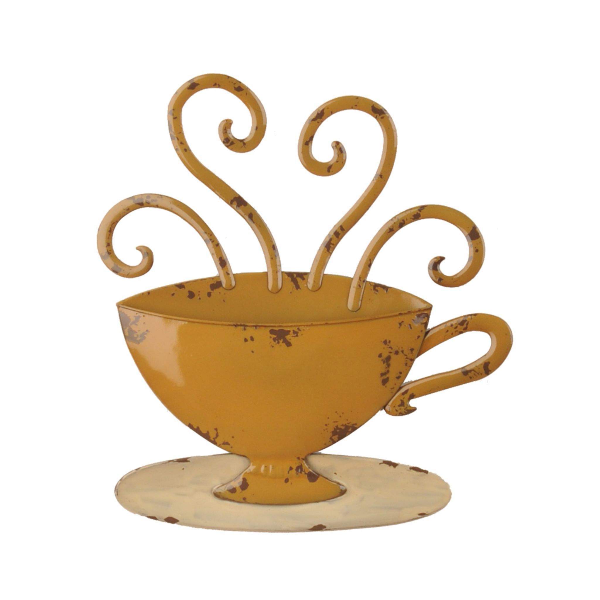 Found It At Wayfair – Decorative Three Stacked Coffee Tea Cups Iron Within 2019 Decorative Three Stacked Coffee Tea Cups Iron Widget Wall Decor (View 9 of 20)