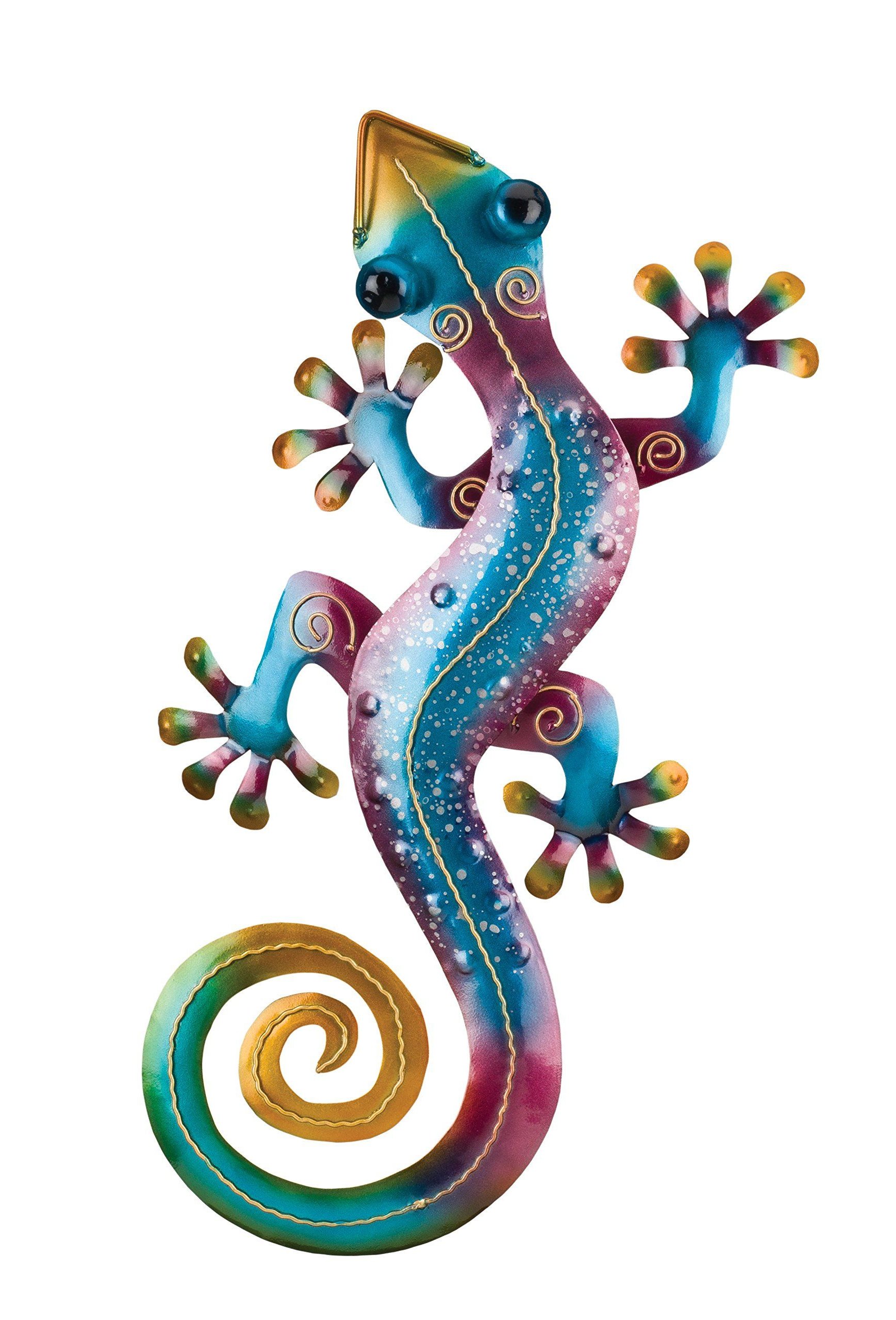 Gecko Wall Decor Inside Recent Regal Art And Gift Gecko Wall Decor 19 Rainbow Purple * You Can Find (Gallery 18 of 20)