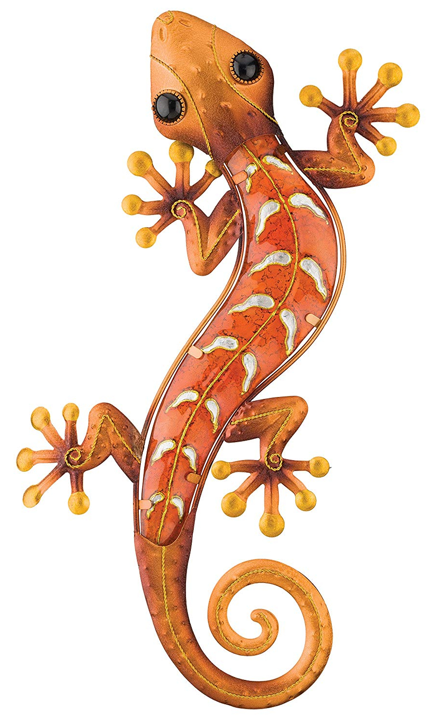 Gecko Wall Decor With Most Recently Released Amazon: Regal Art & Gift Gecko Wall Decor, 18 Inch, Copper: Home (Gallery 2 of 20)