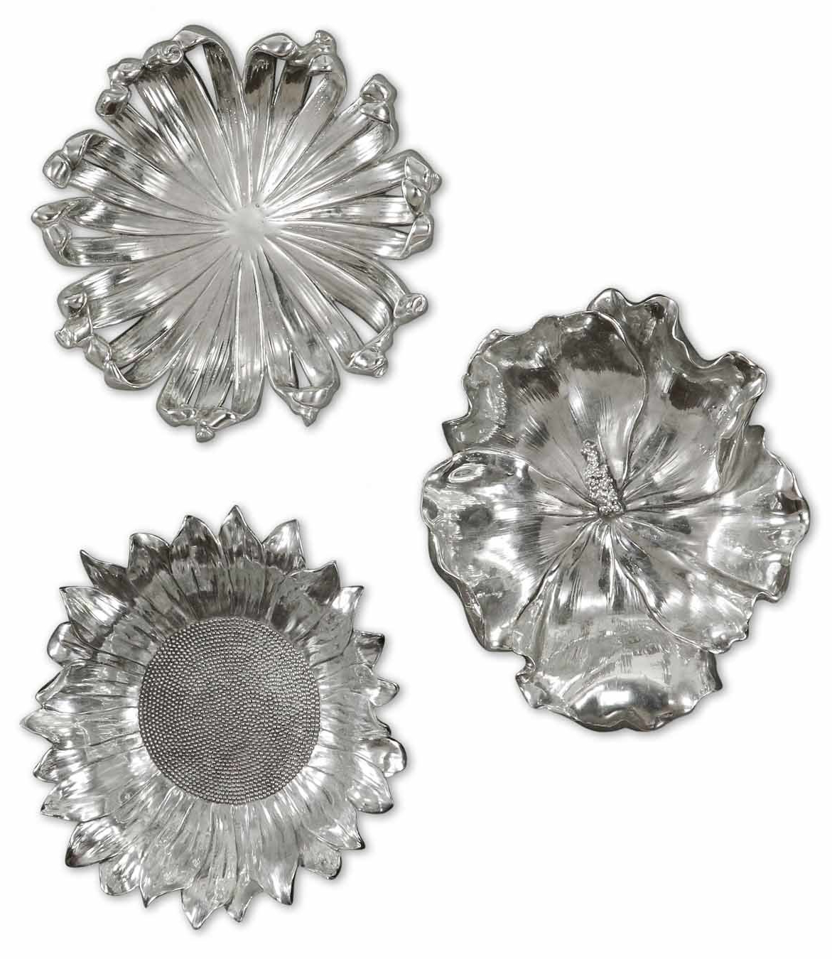 Joss & Main Regarding Metal Flower Wall Decor (Set Of 3) (Gallery 8 of 20)