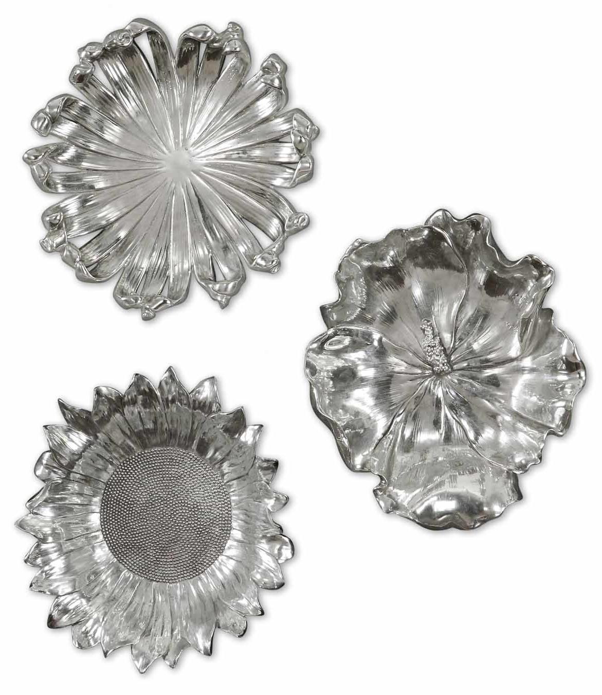 Joss & Main Regarding Metal Flower Wall Decor (Set Of 3) (View 8 of 20)