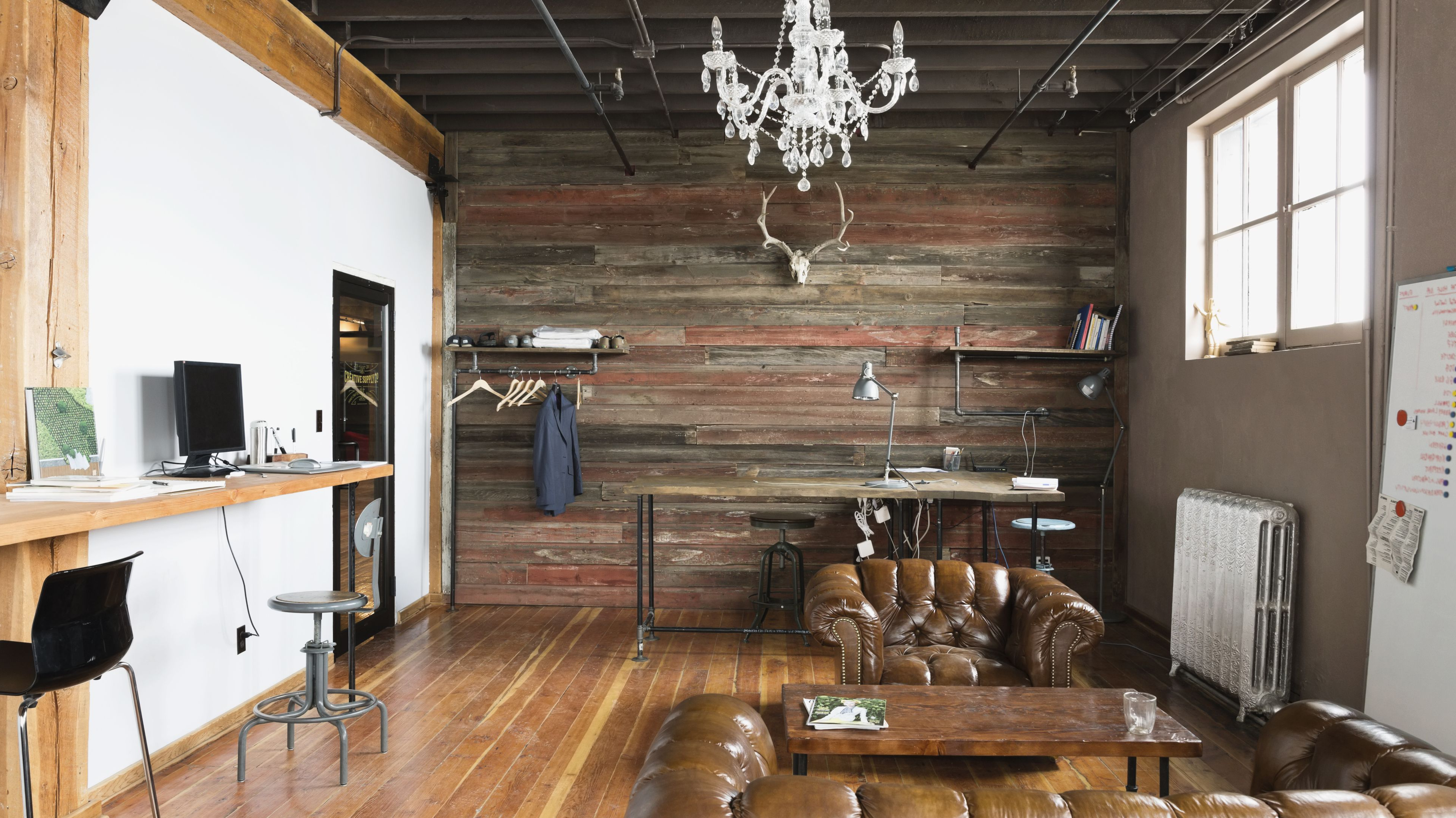 Large Modern Industrial Wall Decor Regarding Well Known Industrial Chic Style (View 10 of 20)