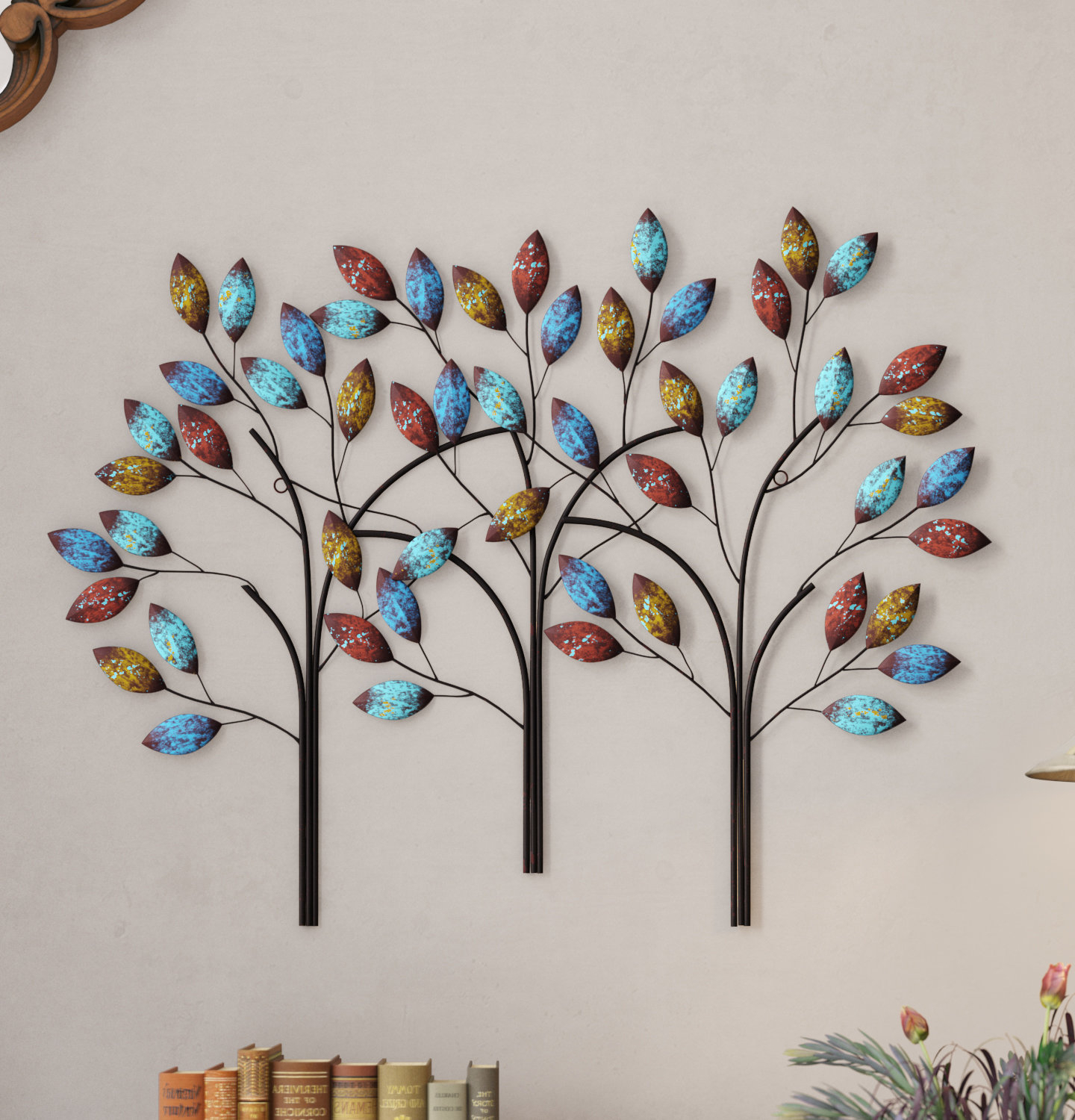 Metal Leaf Wall Decor By Red Barrel Studio With Regard To Favorite Winston Porter Tree Branch Wall Decor & Reviews (View 7 of 20)