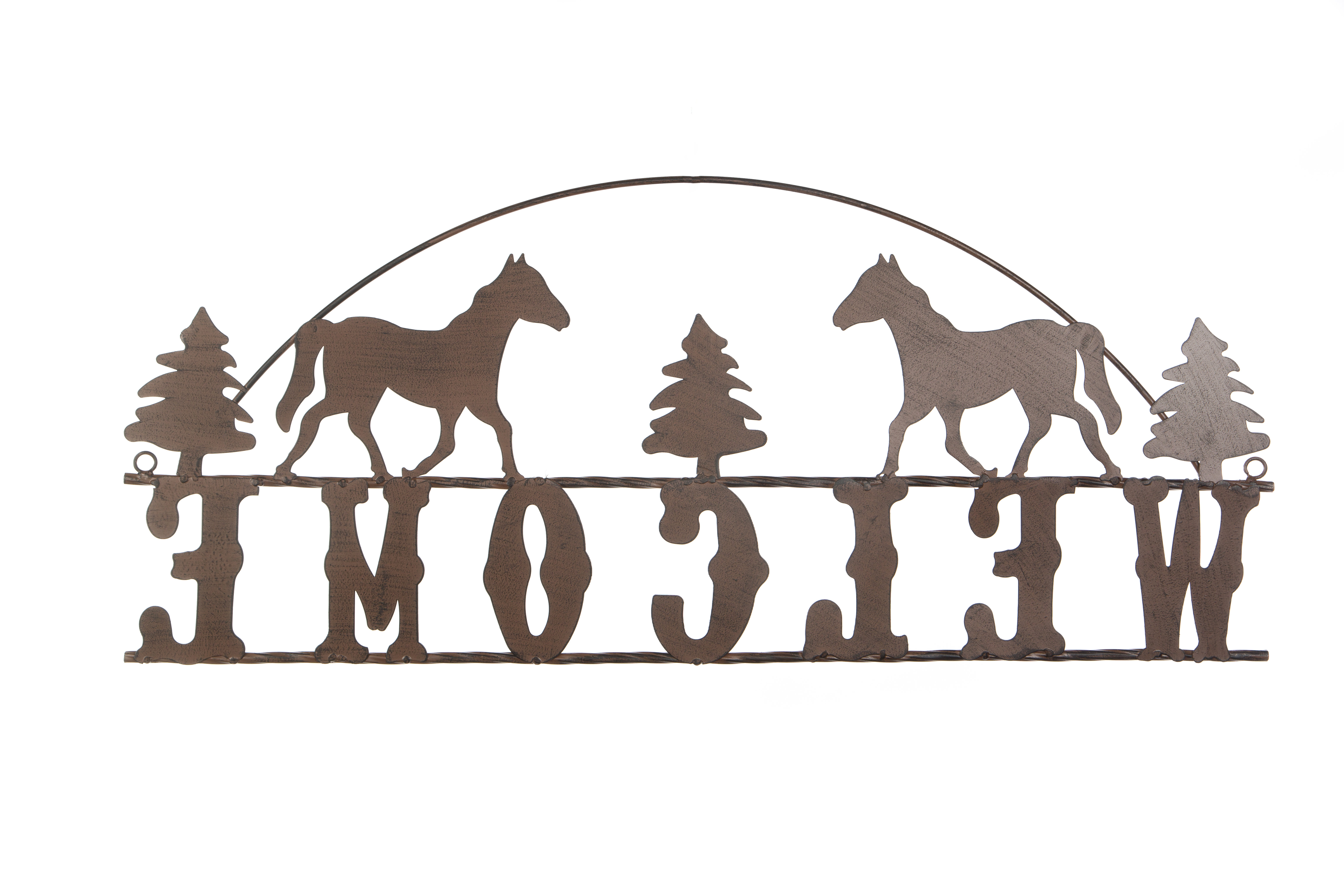 Millwood Pines Welcome Sign Wall Décor (View 9 of 20)
