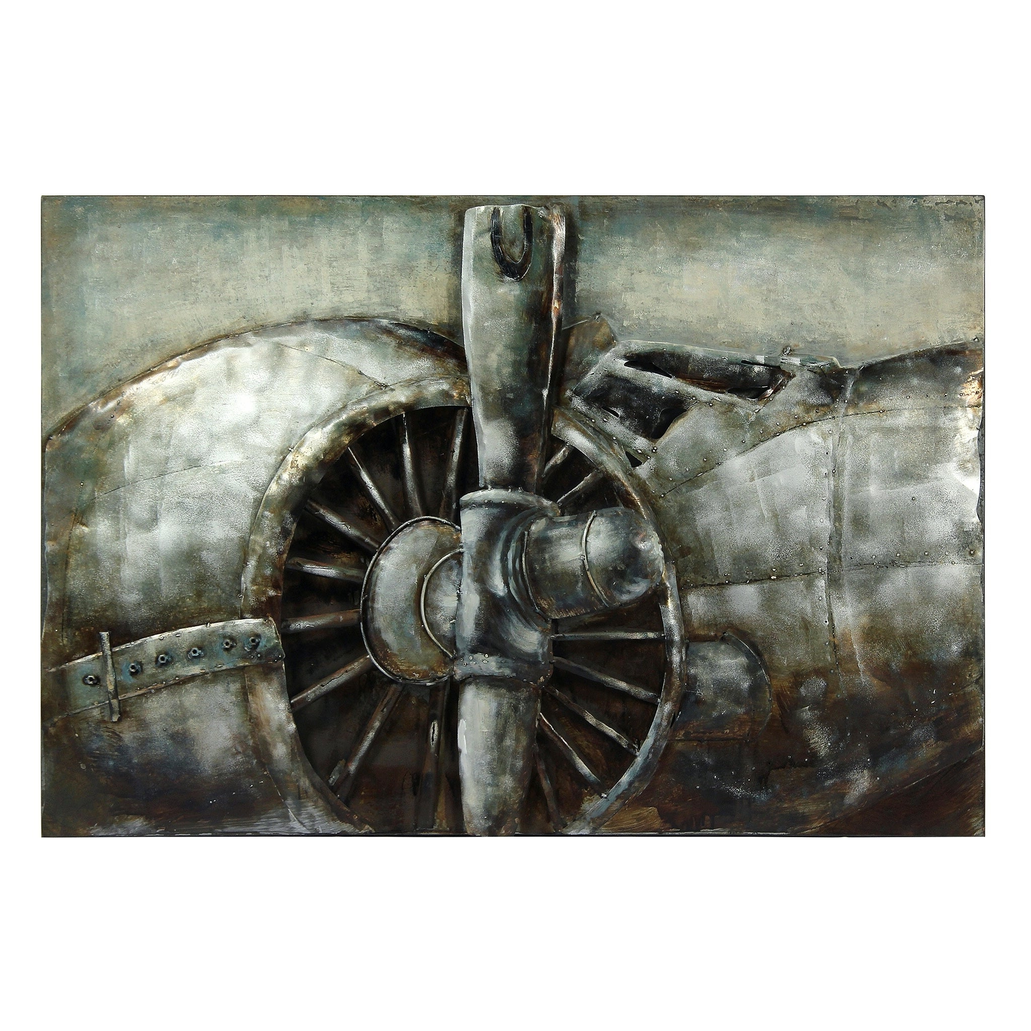 "Mixed Media Iron Hand Painted Dimensional Wall Decor Regarding Most Popular Flyaway"" Mixed Media Iron Hand Painted Dimensional Wall Décor (View 19 of 20)"