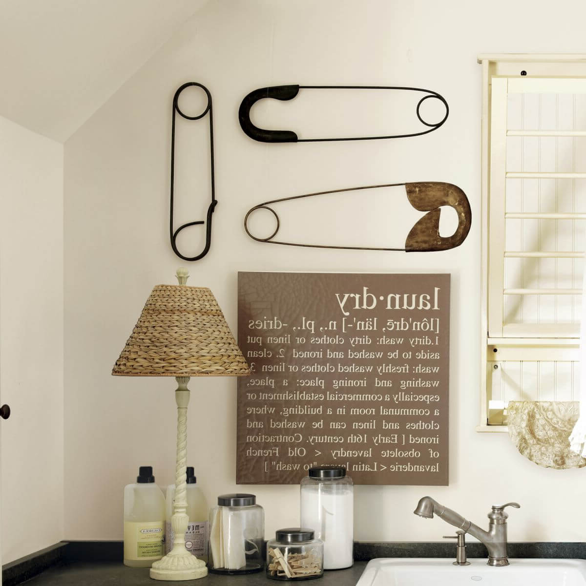 Most Current 25 Best Vintage Laundry Room Decor Ideas And Designs For 2019 Inside Metal Laundry Room Wall Decor (View 16 of 20)
