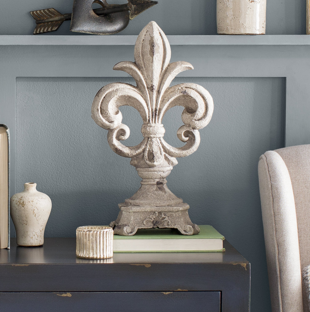 Most Popular 2 Piece Metal Wall Decor Sets By Fleur De Lis Living In Fleur De Lis Finials & Reviews (Gallery 12 of 20)
