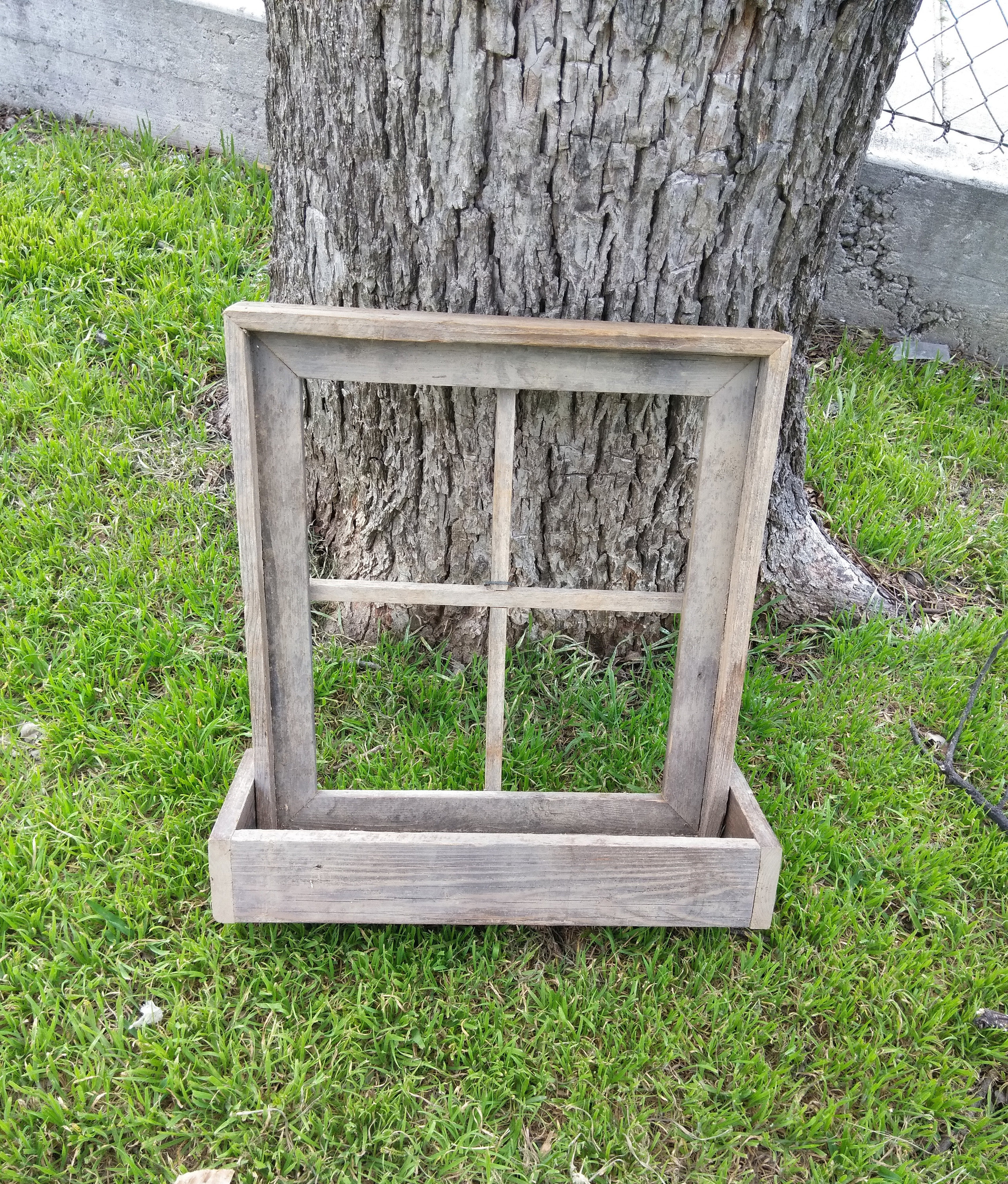 Most Popular Reclaimed Barn Window Frame Window Planter Box Rustic Window (Gallery 16 of 20)
