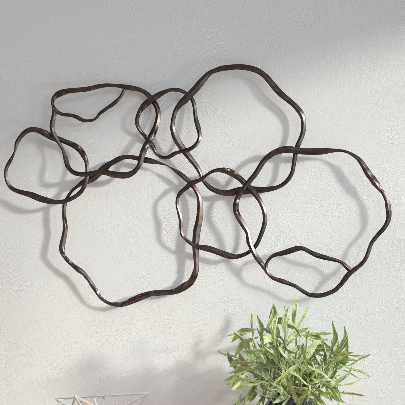 Most Popular Rings Wall Decor Inside Wrought Studio Rings Wall Décor & Reviews (View 4 of 20)