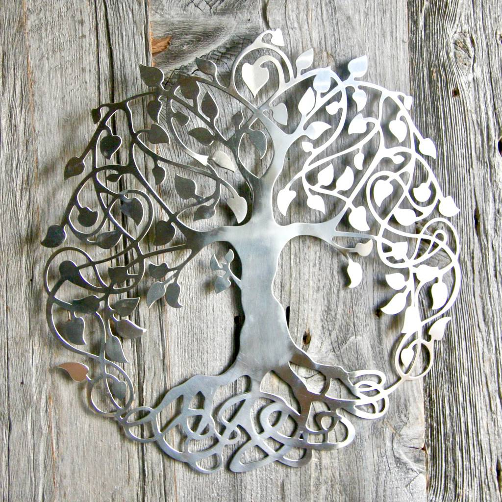 Most Popular Silver Tree Of Life Wall Artlondon Garden Trading For Tree Of Life Wall Decor (View 9 of 20)
