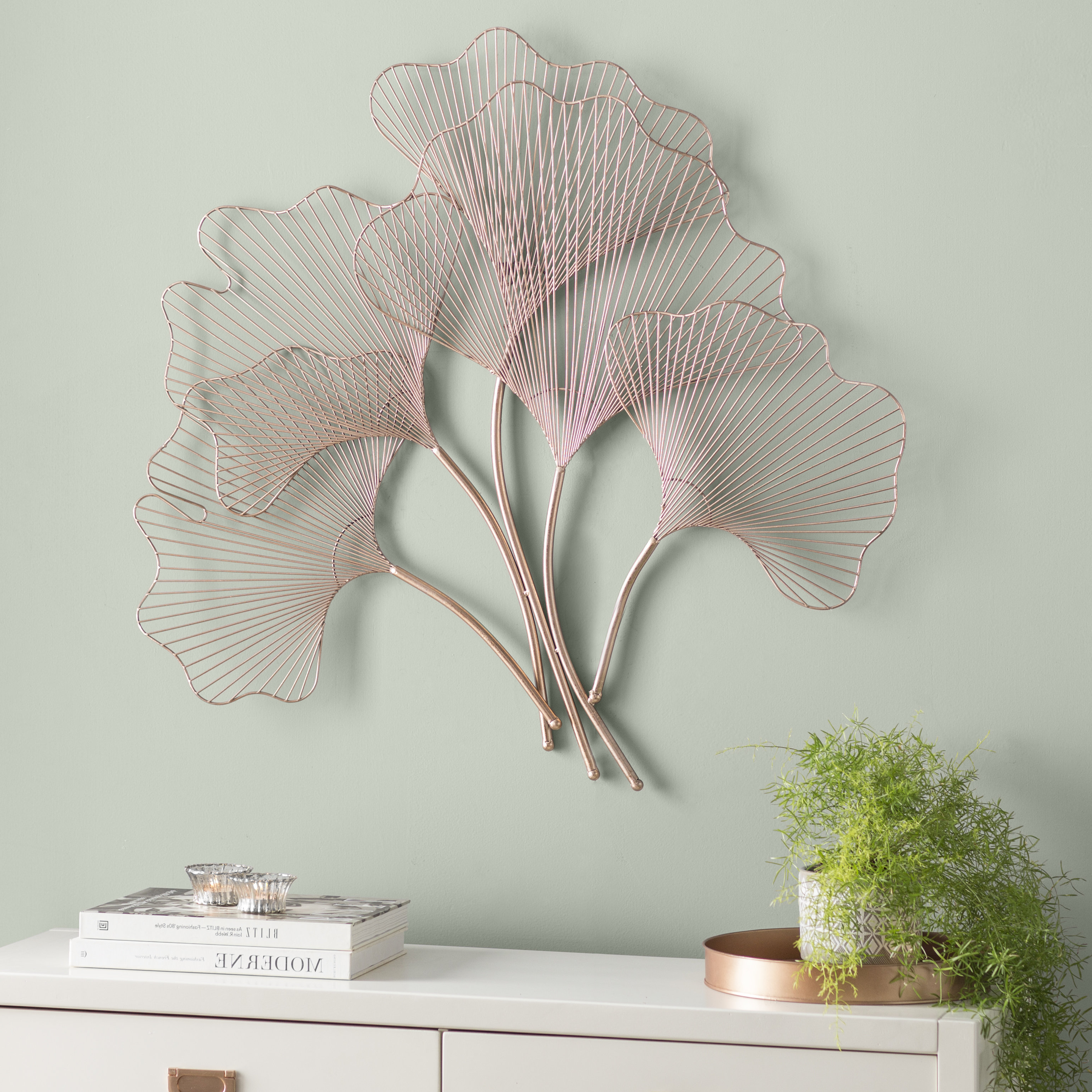 Most Recent Desford Leaf Wall Decor With Wall Décor & Reviews (View 13 of 20)