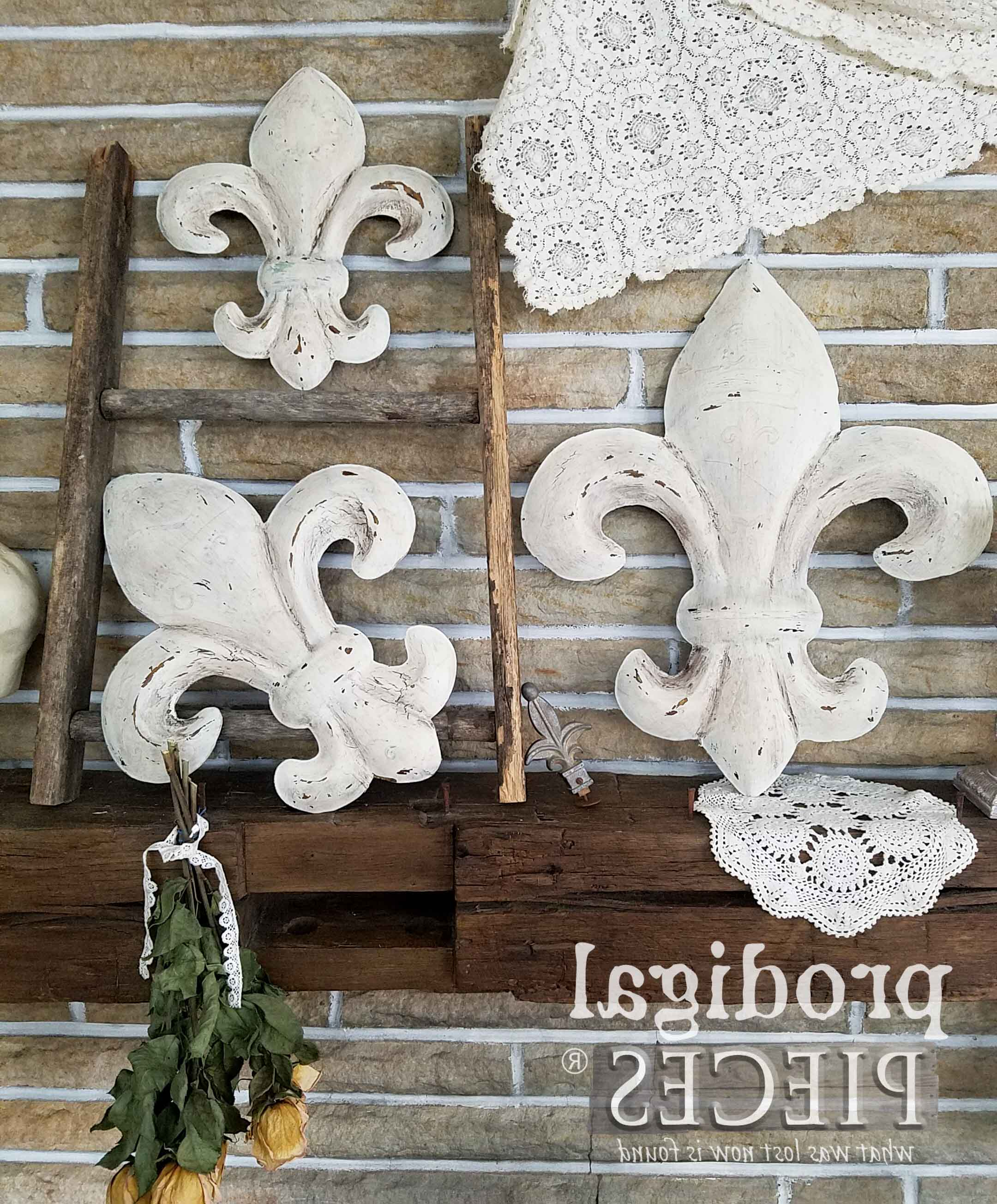 Most Recent Fleur De Lis Wall Art ~ From Thrifted To Fabulous – Prodigal Pieces Intended For 2 Piece Metal Wall Decor Sets By Fleur De Lis Living (View 15 of 20)