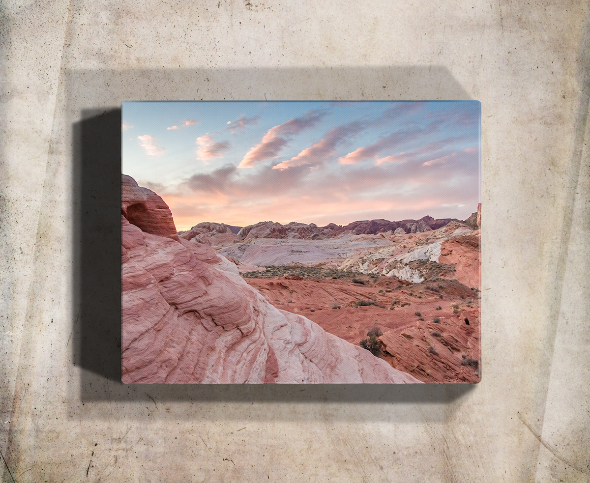 Most Recent Red Desert Sunset Wall Art Print – Rogue Aurora Photography For Aurora Sun Wall Decor (Gallery 12 of 20)