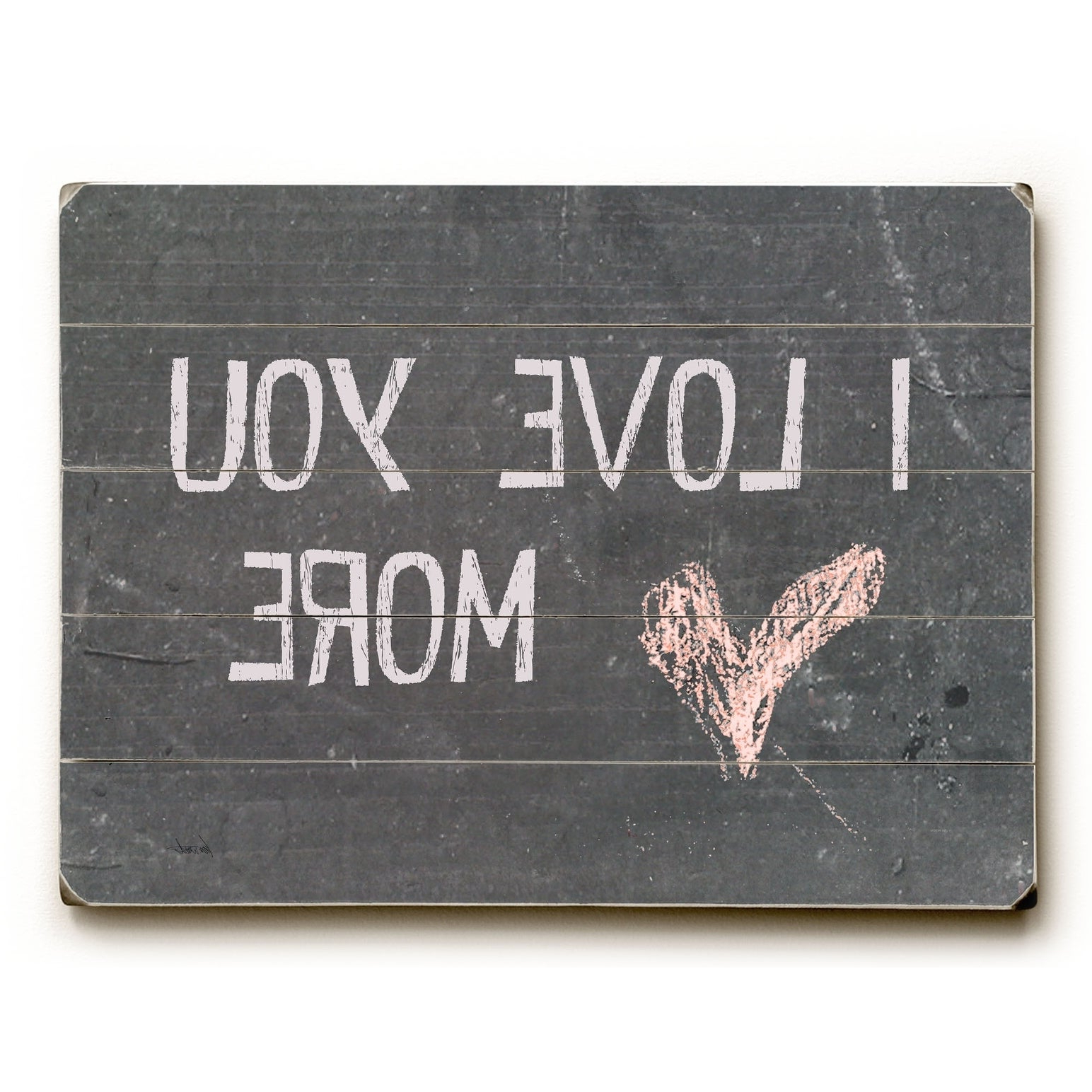 Most Recent Shop I Love You More – 9X12 Solid Wood Wall Decorlisa Weedn – 9 Throughout 'love You More' Wood Wall Decor (Gallery 20 of 20)