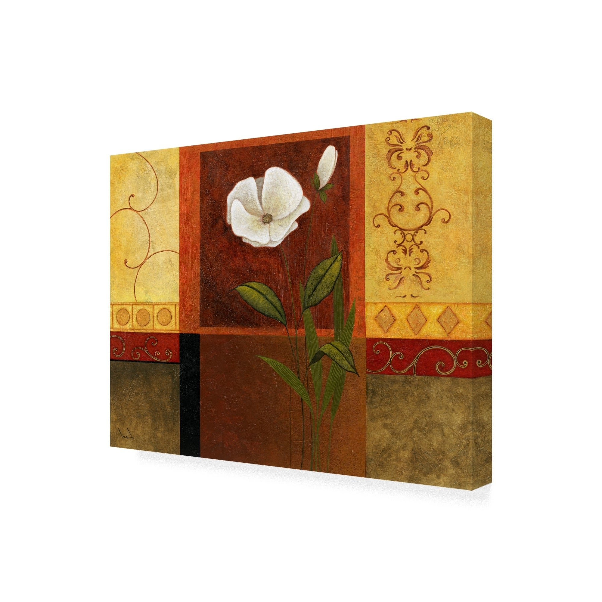 Most Up To Date 3 Piece Magnolia Brown Panel Wall Decor Sets Inside Shop Pablo Esteban White On Panels 3 Canvas Art – Free Shipping (Gallery 18 of 20)