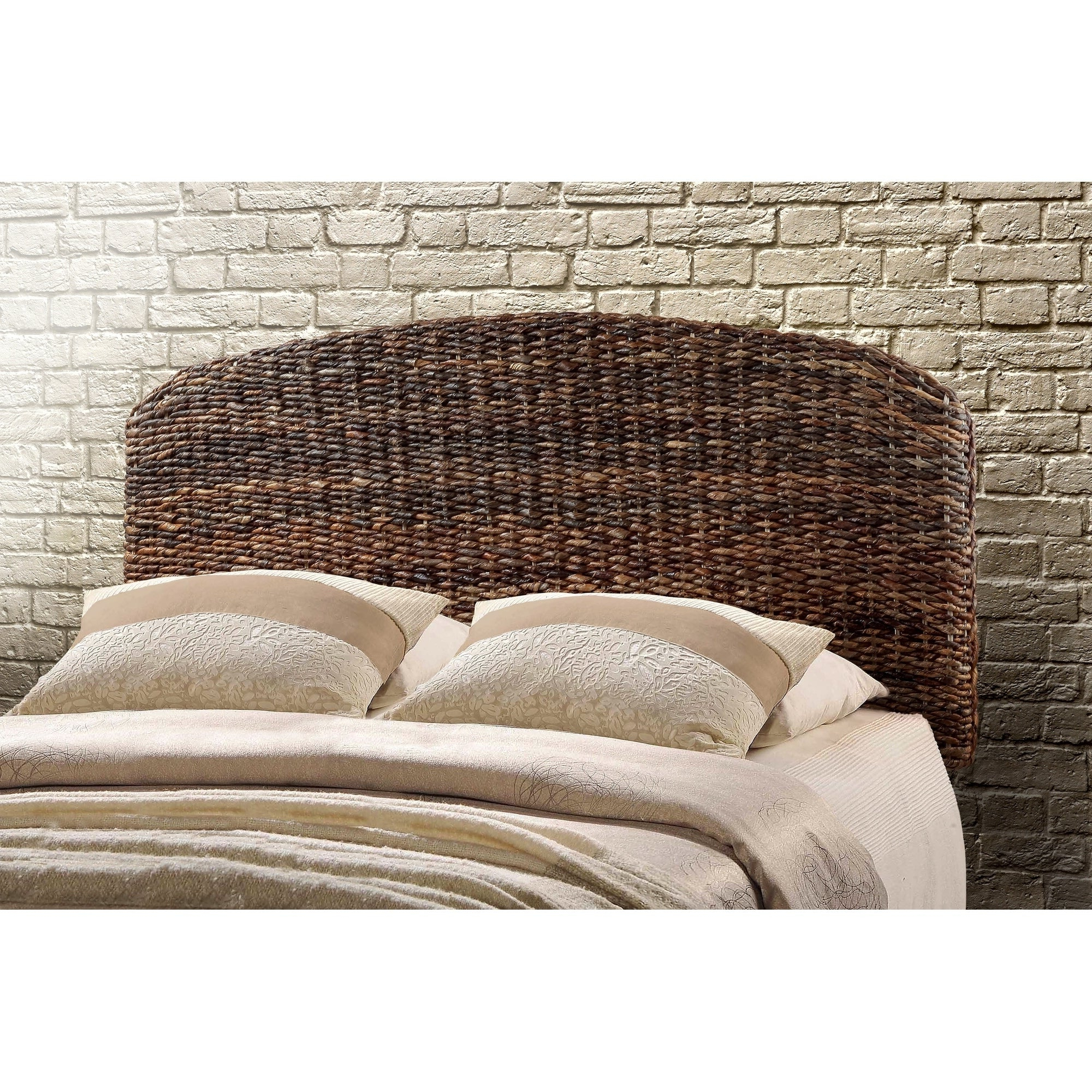 Most Up To Date 4 Piece Handwoven Wheel Wall Decor Sets In Shop Raja Queen Size Handwoven Banana Leaf Headboard – On Sale (Gallery 18 of 20)