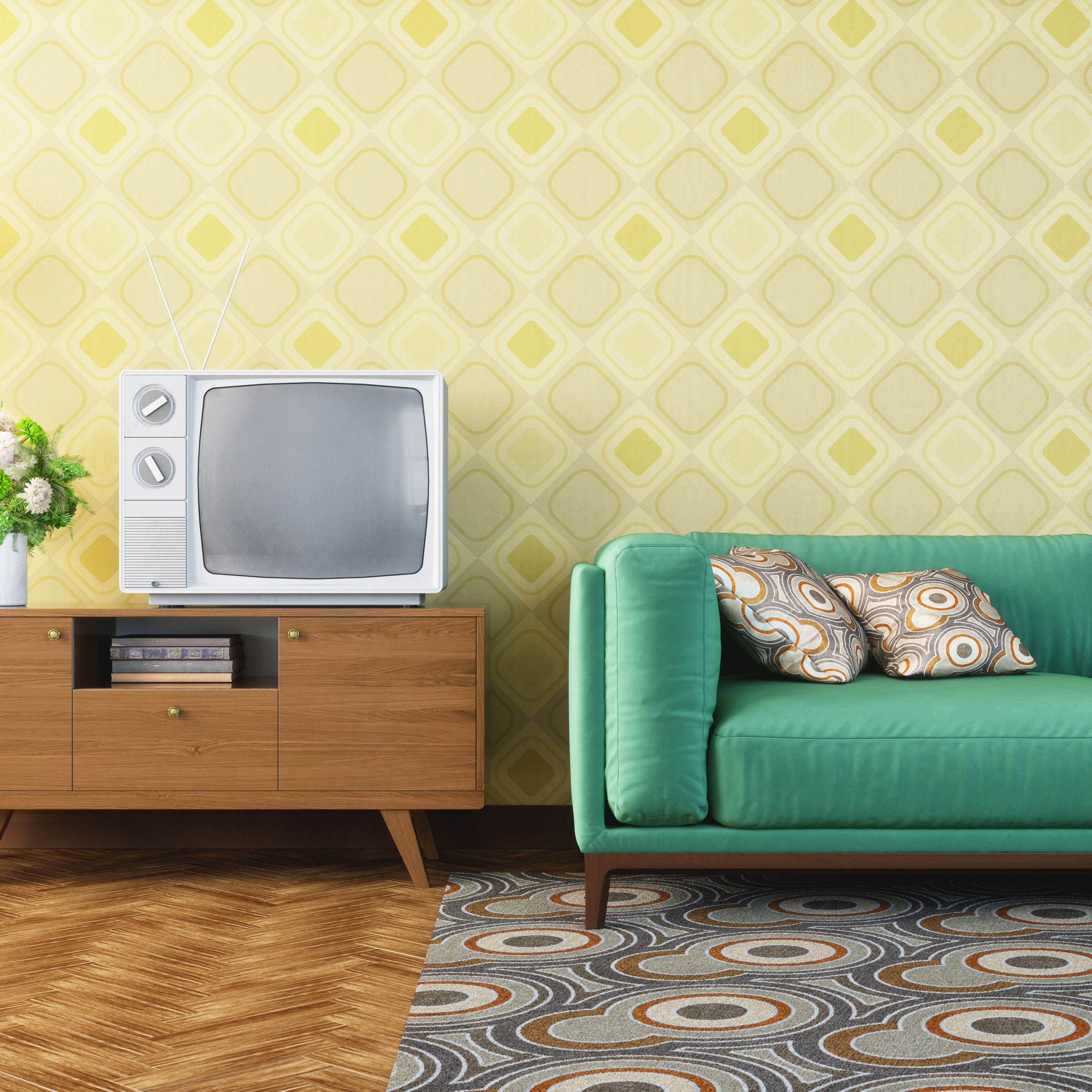 Most Up To Date 6 Decorating Tips For Retro Style In Casual Country Eat Here Retro Wall Decor (View 15 of 20)