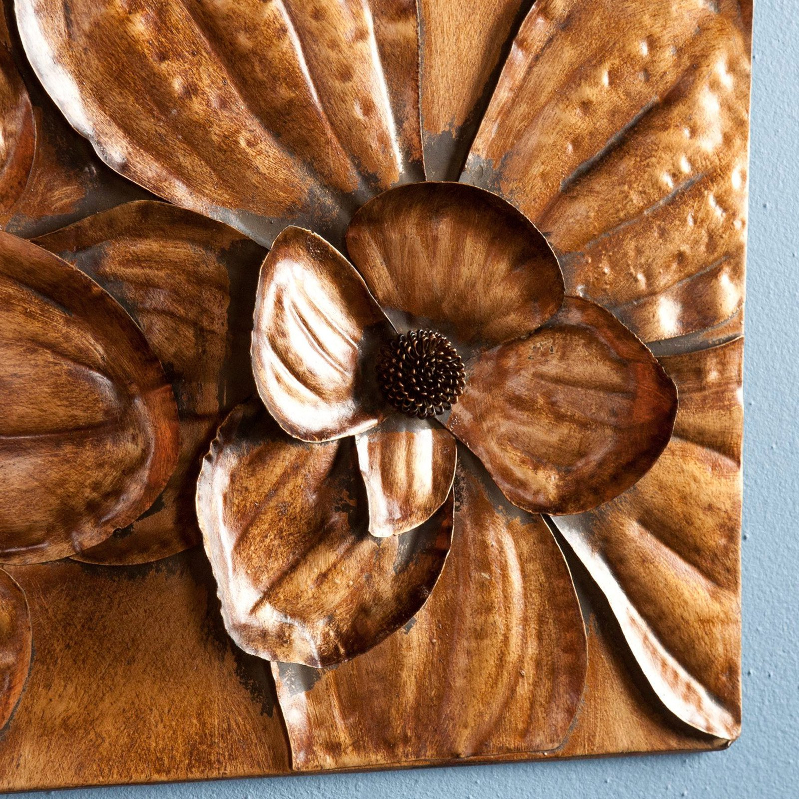 Newest 3 Piece Magnolia Brown Panel Wall Decor Sets With Southern Enterprises Magnolia 3 Piece Wall Panel Set – Walmart (Gallery 6 of 20)