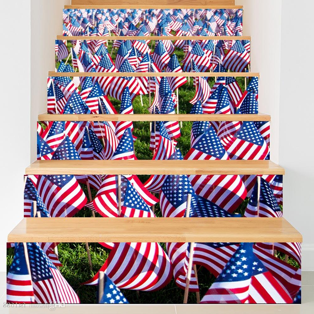 Featured Photo of American Flag 3D Wall Decor