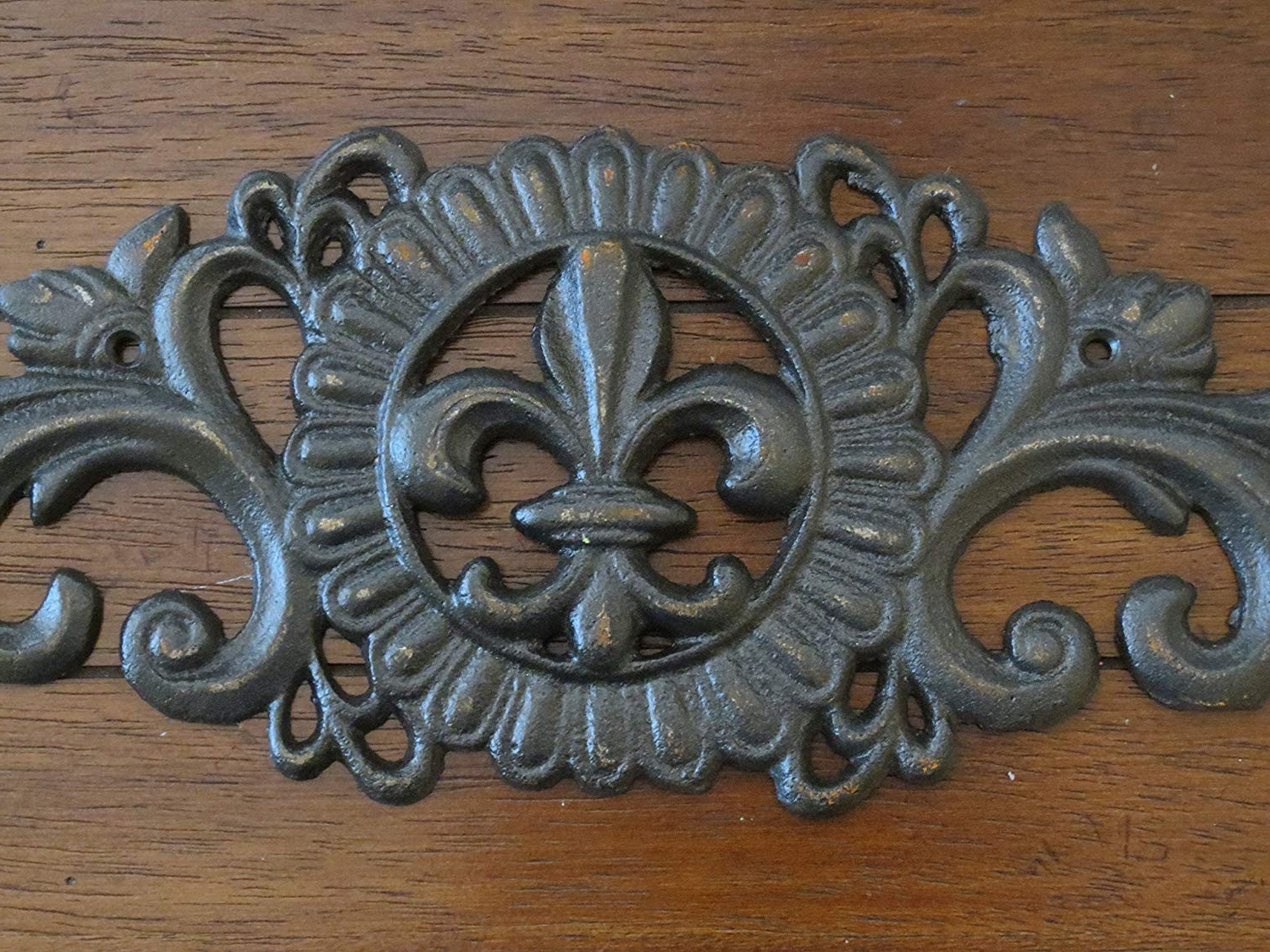 Oil Rubbed Metal Wall Decor Pertaining To Latest Amazon: Fleur De Lis Wall Decor/ Oil Rubbed Bronze Or Pick Your (View 15 of 20)