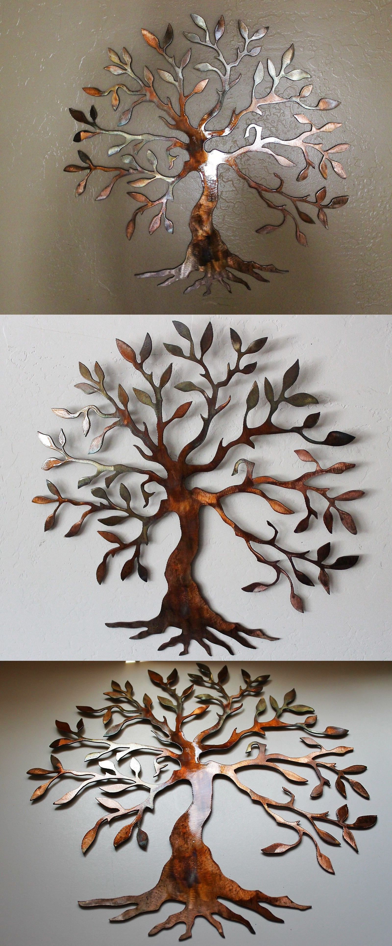 "Olive Tree –Tree Of Life 20"" Metal Wall Art Decor $ (View 10 of 20)"