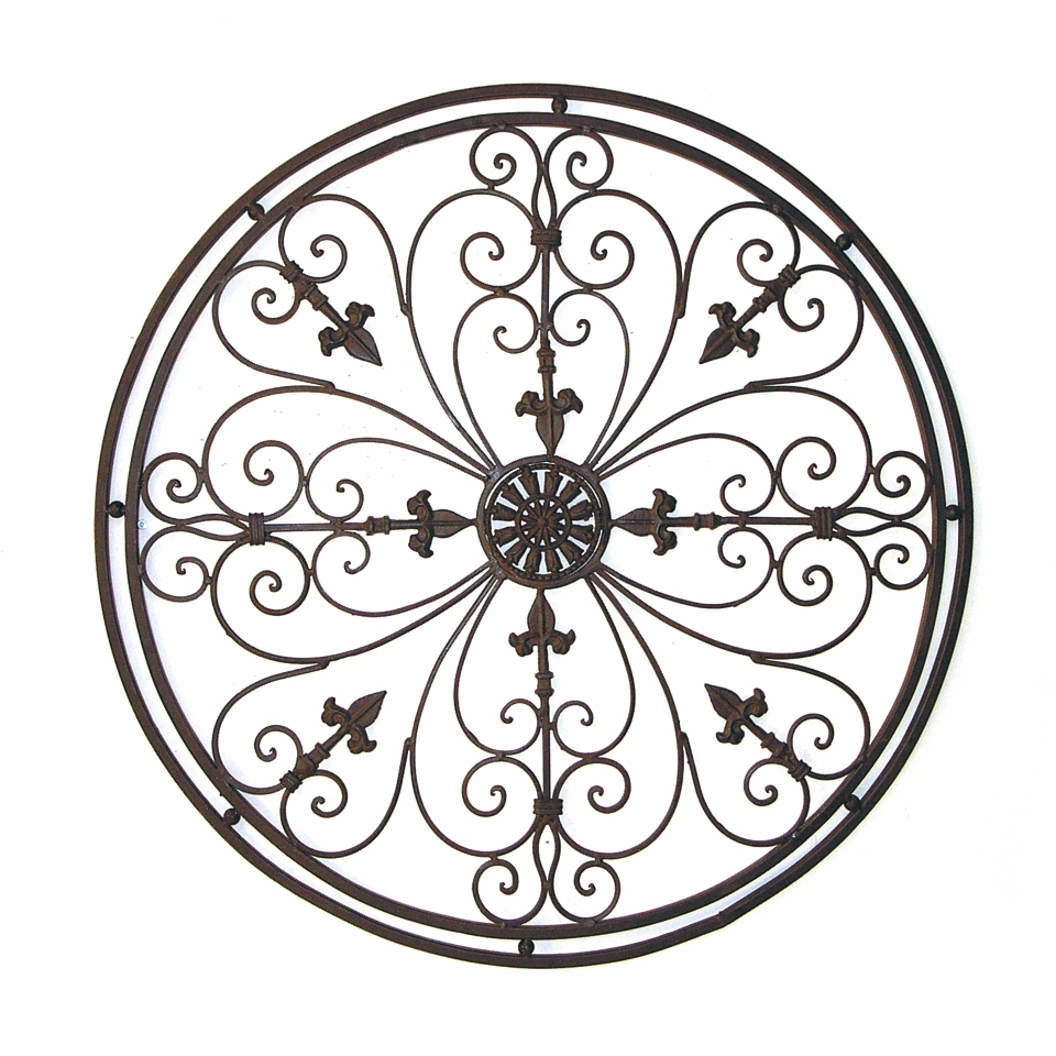Ornamental Wood And Metal Scroll Wall Decor Inside Preferred Wrought Iron Scroll Wall Decor – Best Wall Decor (Gallery 11 of 20)