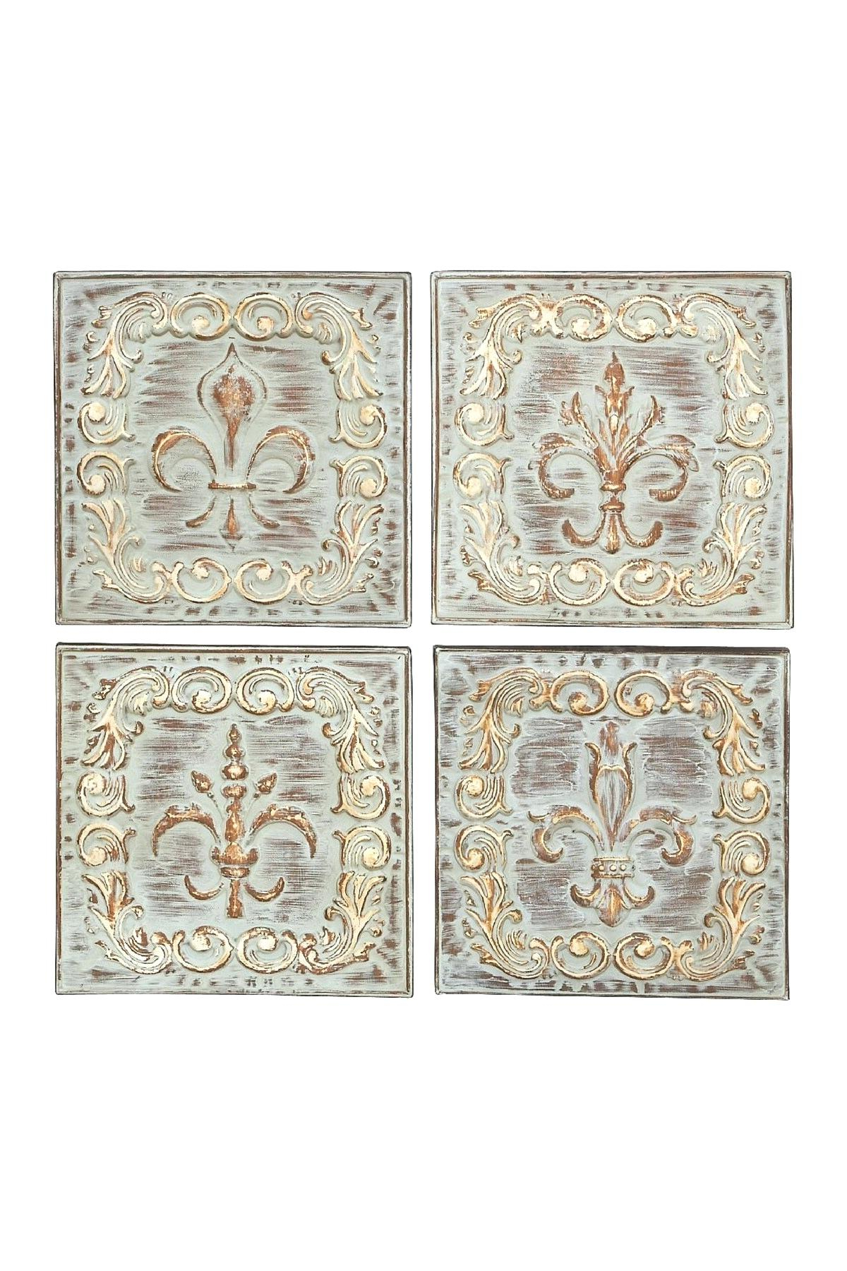 Popular 4 Piece Metal Wall Decor Sets Regarding Metal Wall Decor Set Full Size Of Modern Patio Wall Decor Sets Smart (View 13 of 20)