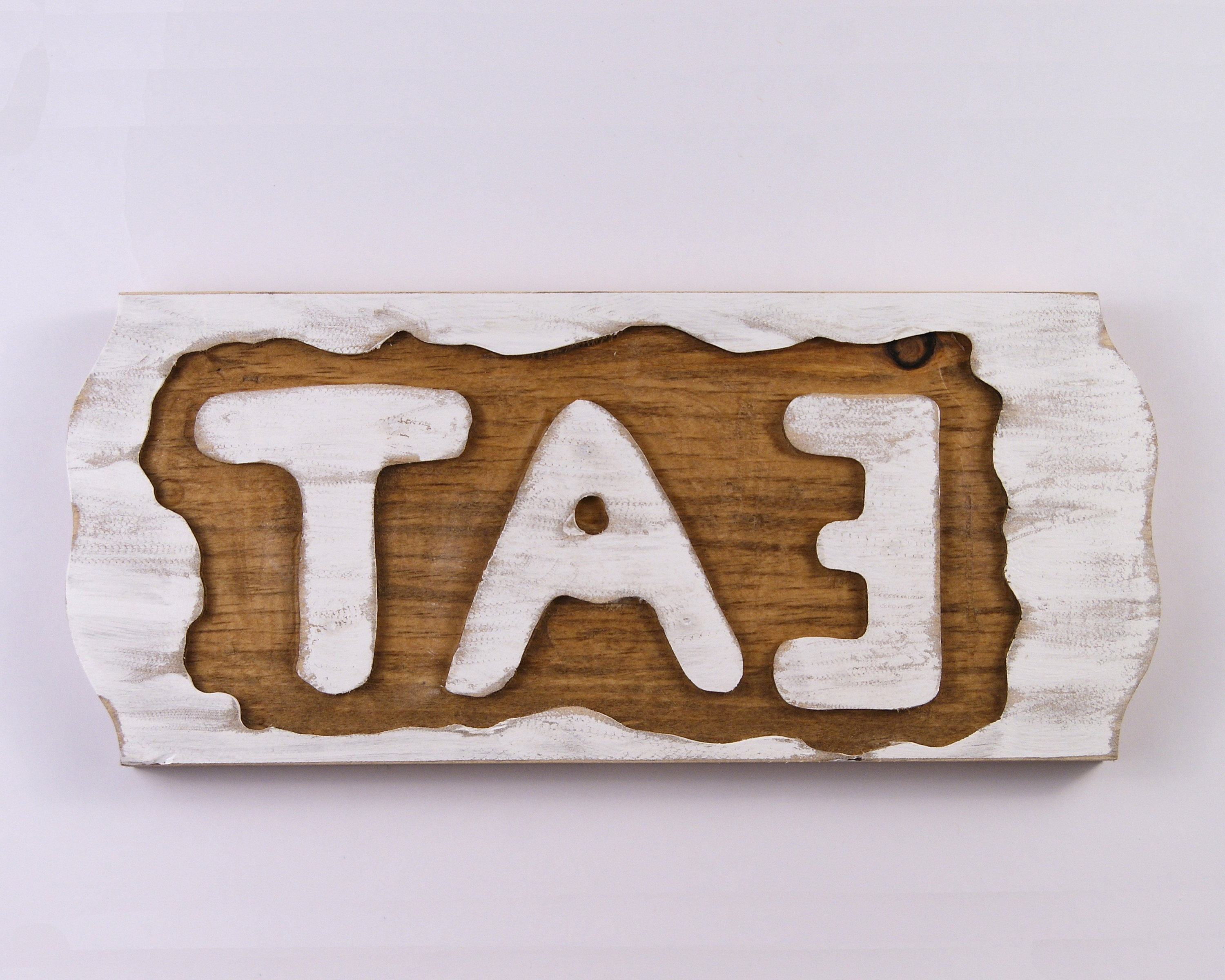 Popular Eat Sign, Rustic White Wall Hanging, Reclaimed Wood Wall Hanging Within Eat Rustic Farmhouse Wood Wall Decor (Gallery 18 of 20)