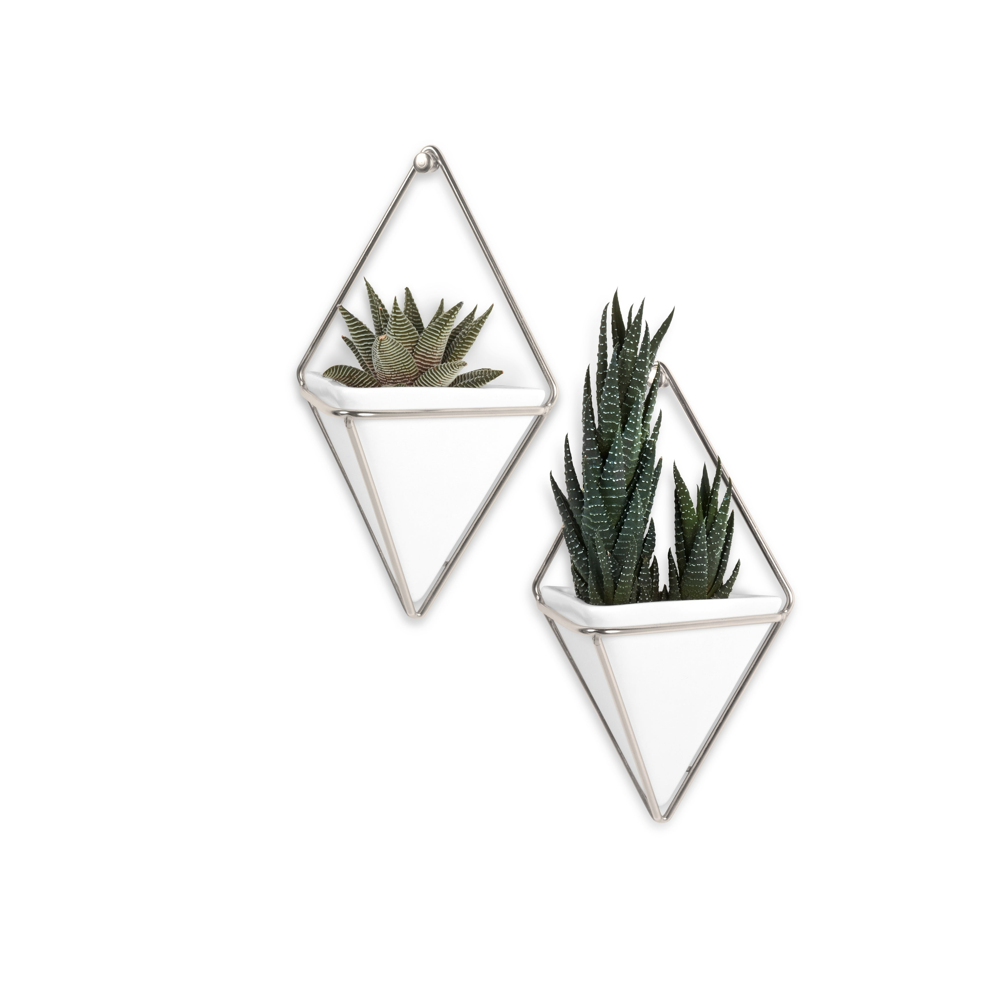 Popular Shop Umbra Trigg Hanging Planter & Wall Decor (Set Of 2) – Free Pertaining To 2 Piece Trigg Wall Decor Sets (Set Of 2) (Gallery 8 of 20)