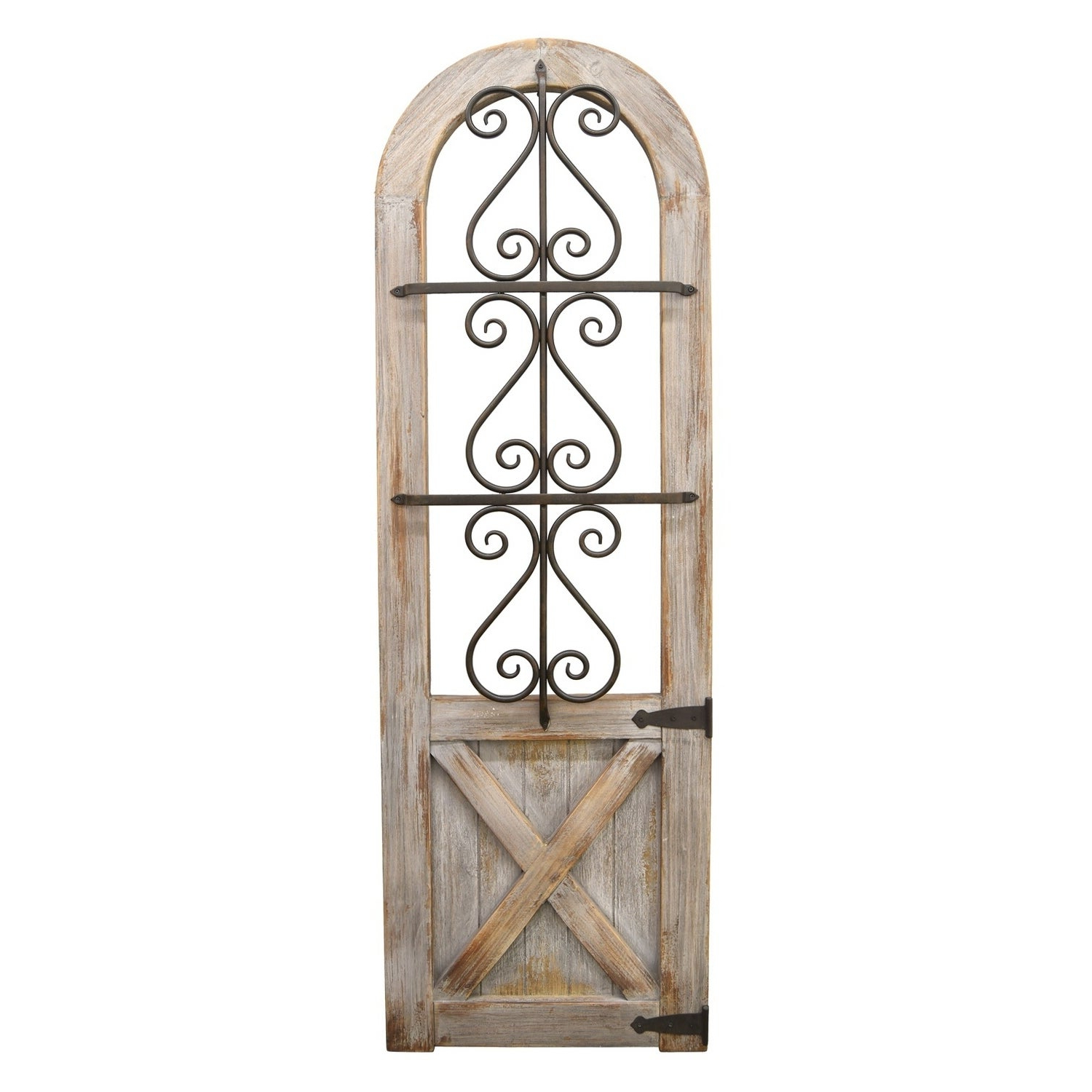 Preferred Brown Wood And Metal Wall Decor Regarding Shop Brown Wood/metal Wall Decor – Free Shipping Today – Overstock (Gallery 7 of 20)