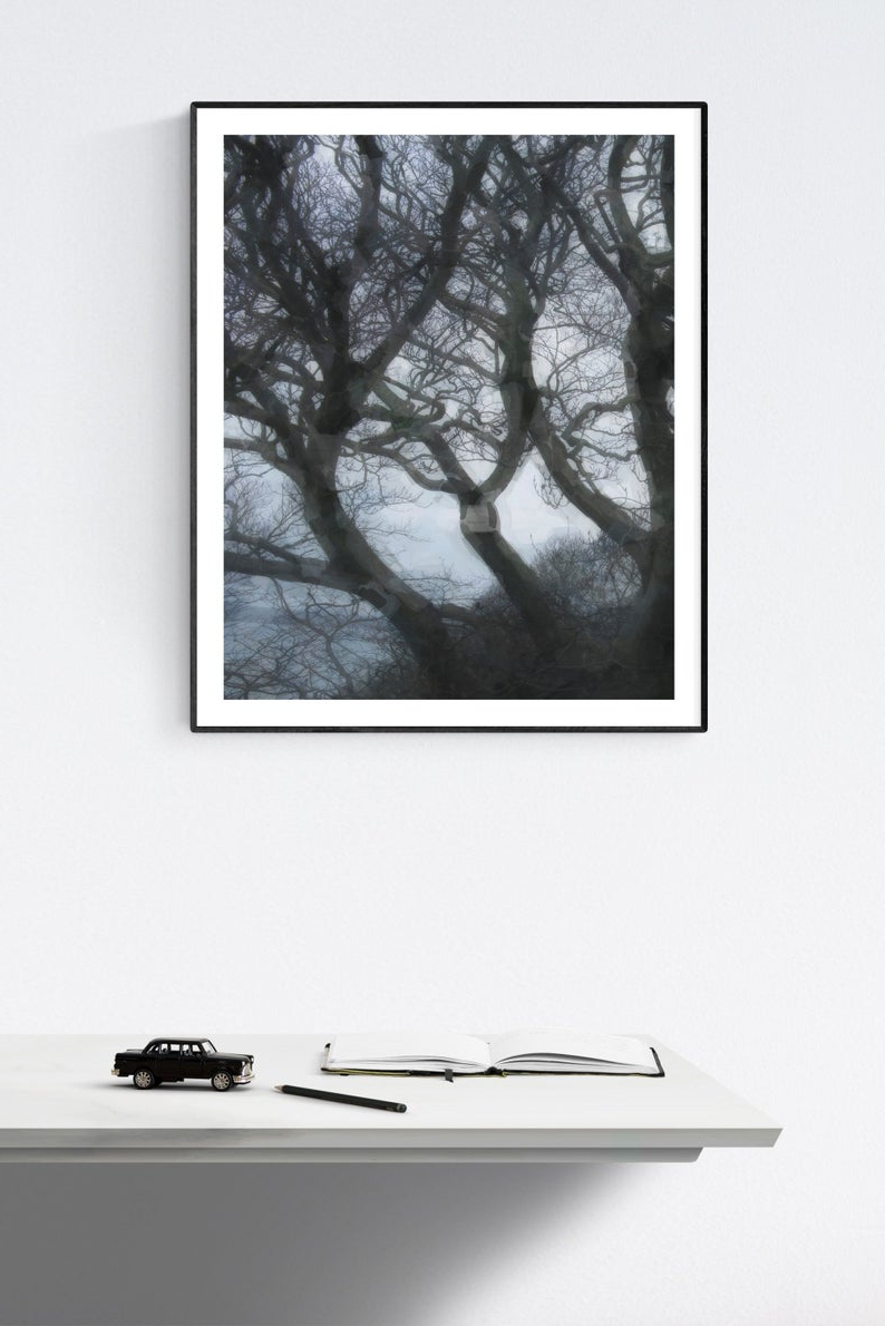 Preferred Windswept Trees : Printable Wall Art (View 3 of 20)