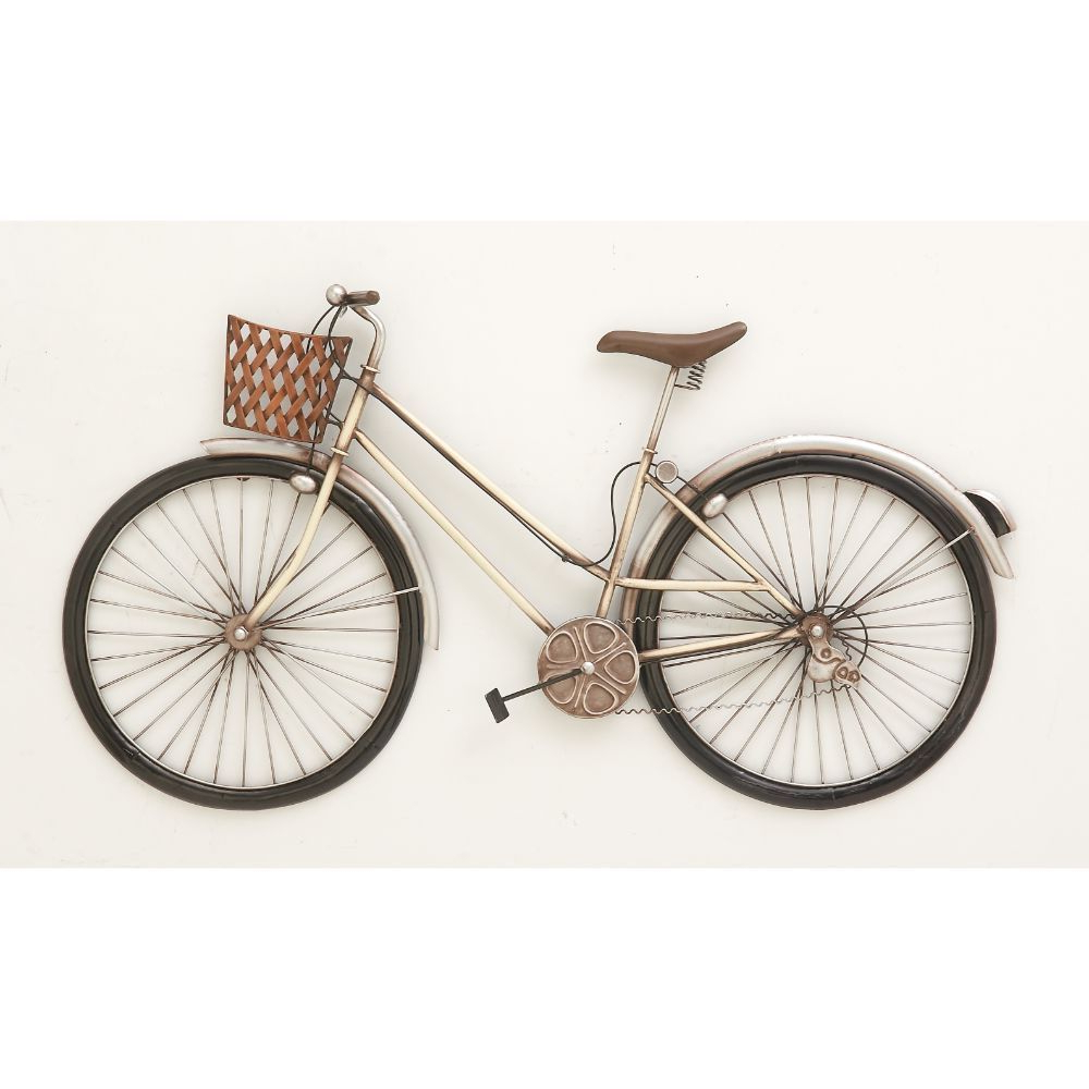 Recent Wall Decor By Cole & Grey For Cole Grey Exclusive Metal Bike Wall Decor Crafted From Metal For (Gallery 17 of 20)