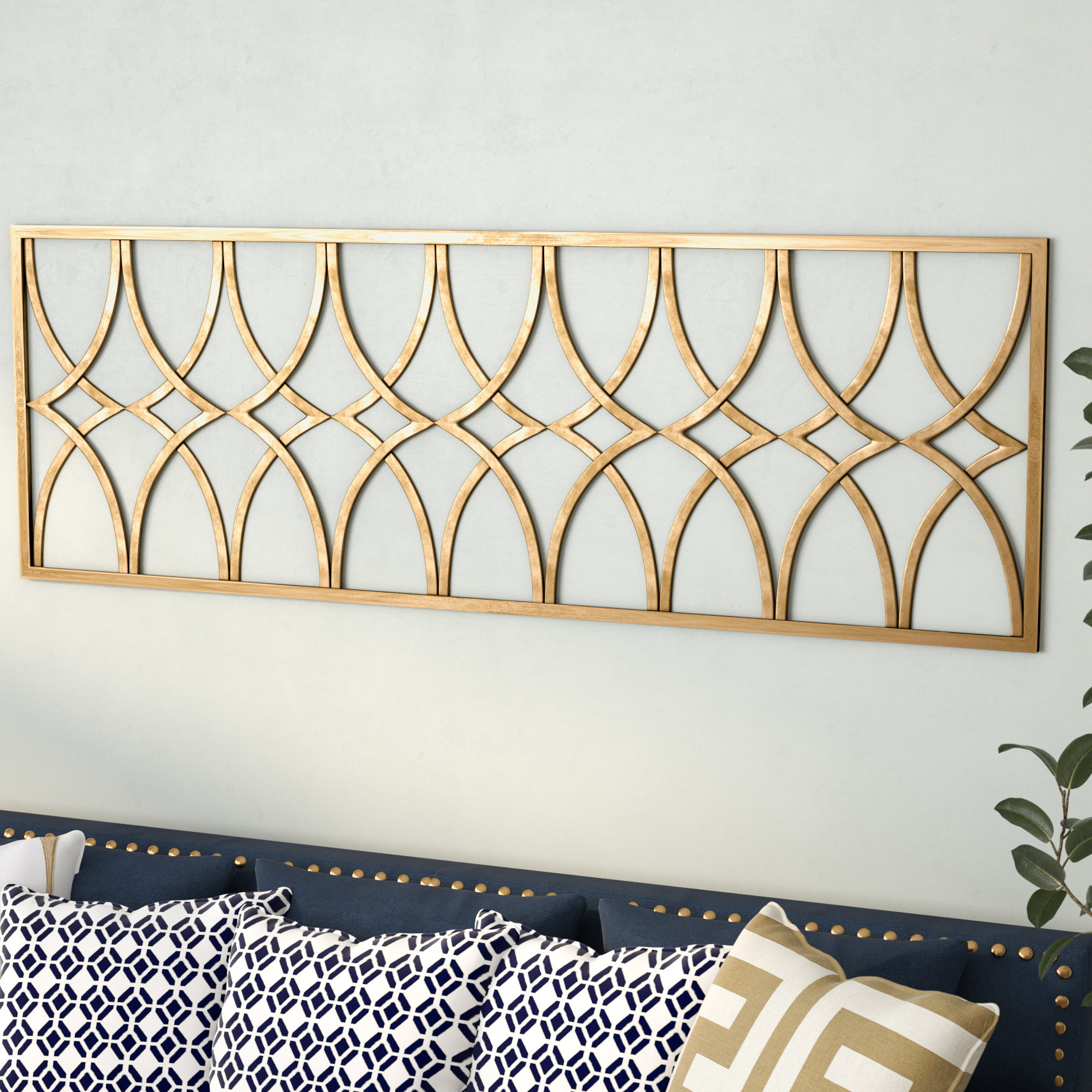 Recent Willa Arlo Interiors Gold Metal Wall Decor (View 6 of 20)