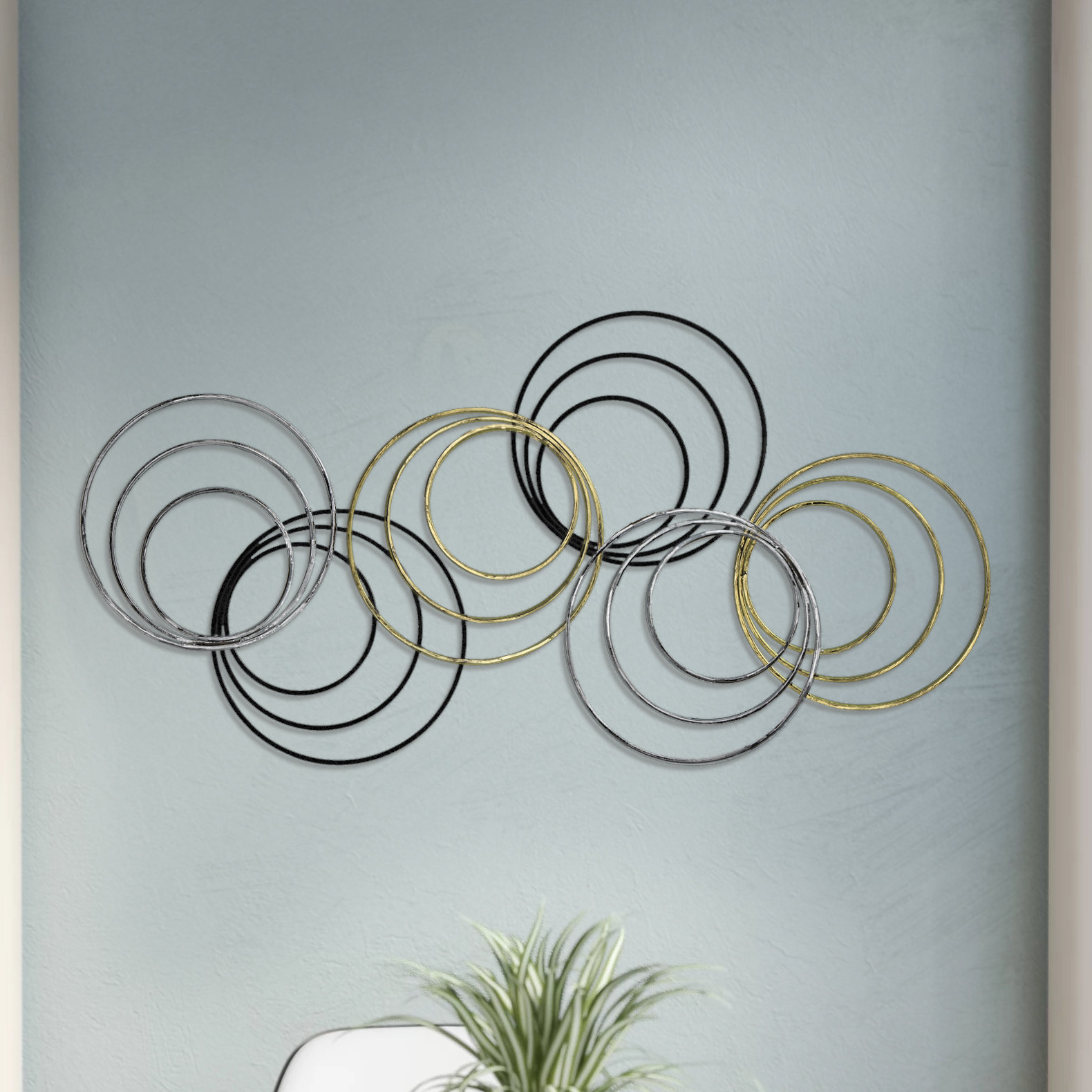 Rings Wall Decor In Well Known George Oliver Rings Wall Décor & Reviews (Gallery 7 of 20)
