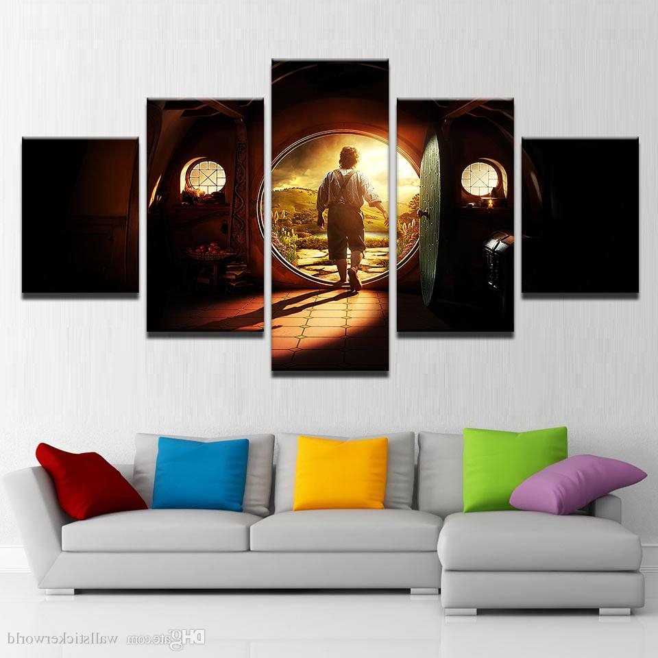 Rings Wall Decor Inside Favorite 2019 Canvas Pictures Home Decor Wall Art Lord Of The Rings Paintings (Gallery 17 of 20)