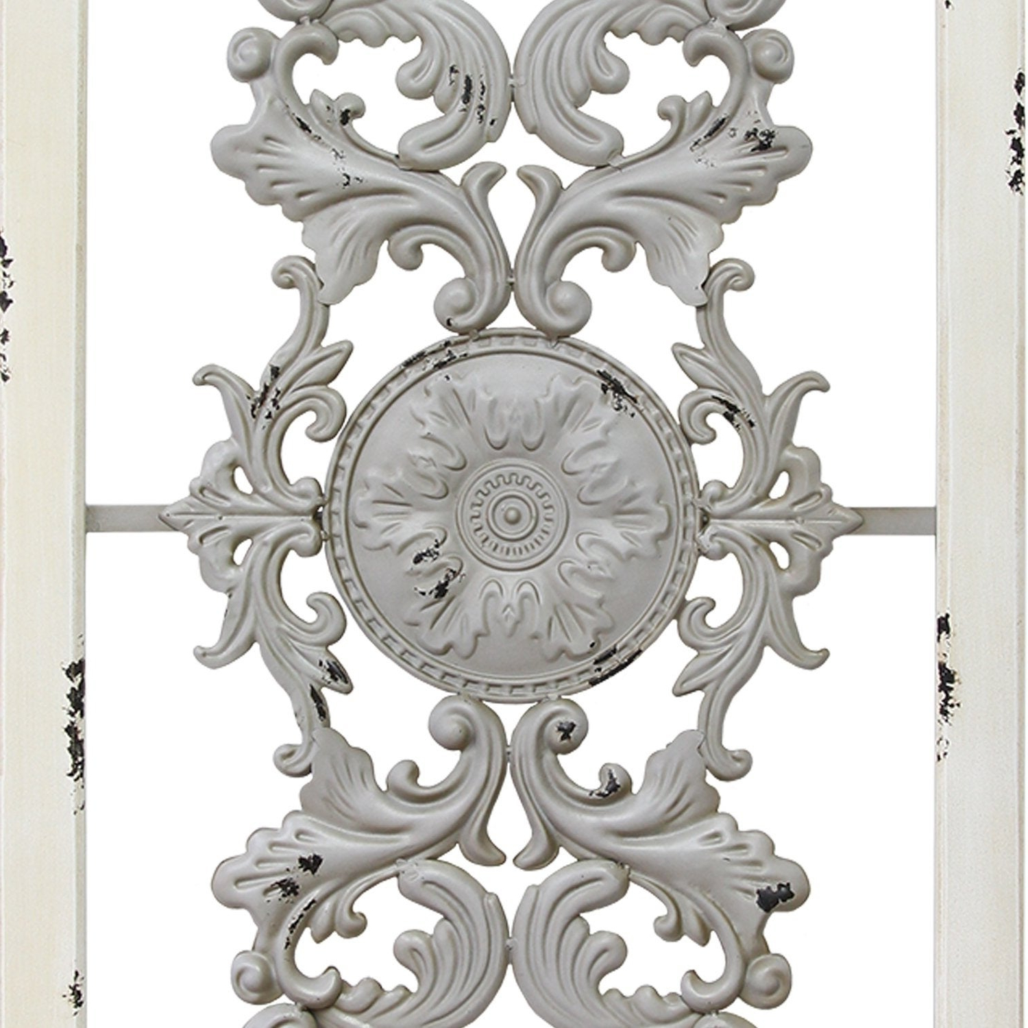 Scroll Panel Wall Decor Regarding Most Recently Released Shop Stratton Home Decor Grey Scroll Panel Wall Decor – Free (Gallery 11 of 20)