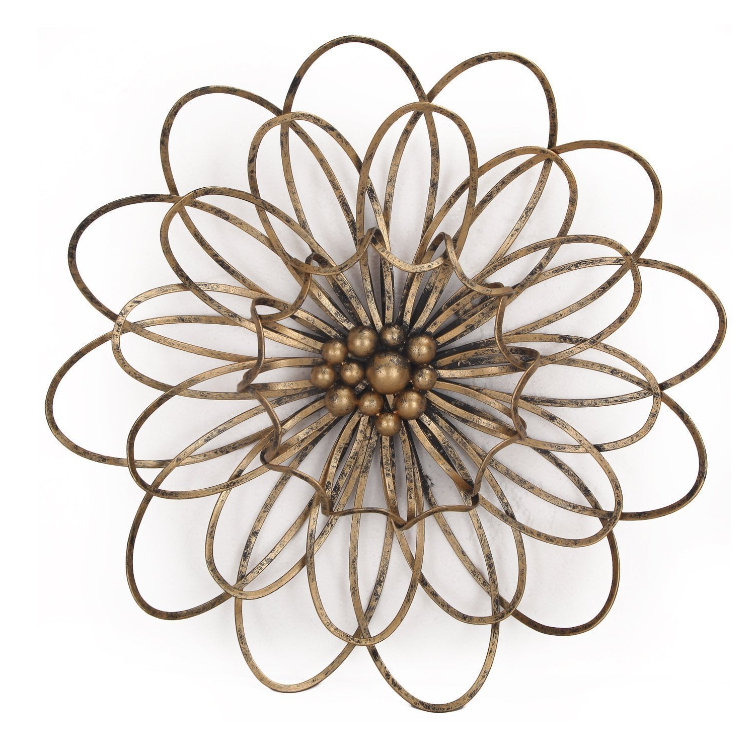 Shop Flower Urban Design Metal Wall Decor – Free Shipping Today Intended For Widely Used Flower Urban Design Metal Wall Decor (View 16 of 20)