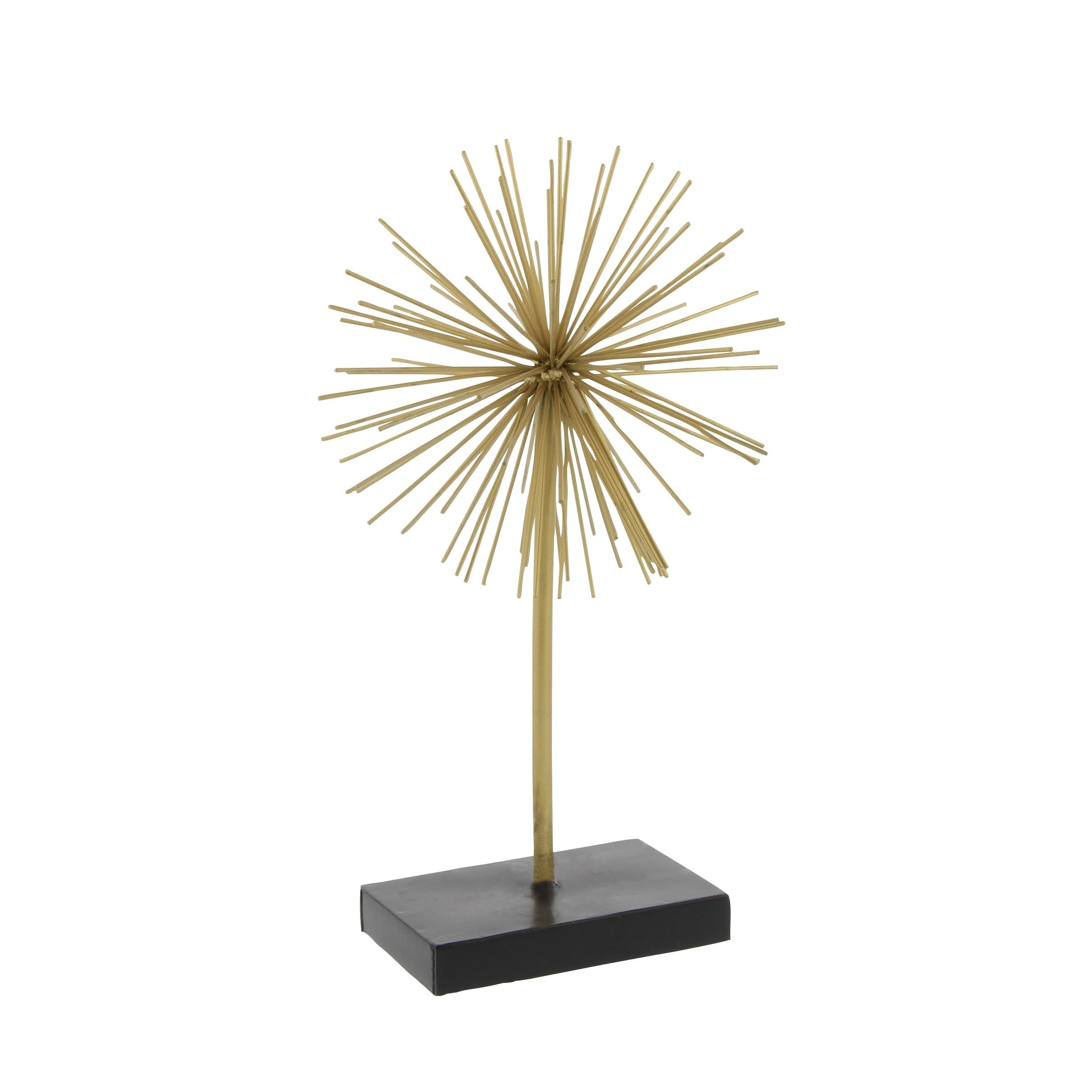 Shop Tall Contemporary Style 3D Round Gold Metal Starburst With Regard To Widely Used Set Of 3 Contemporary 6, 9, And 11 Inch Gold Tin Starburst Sculptures (View 15 of 20)