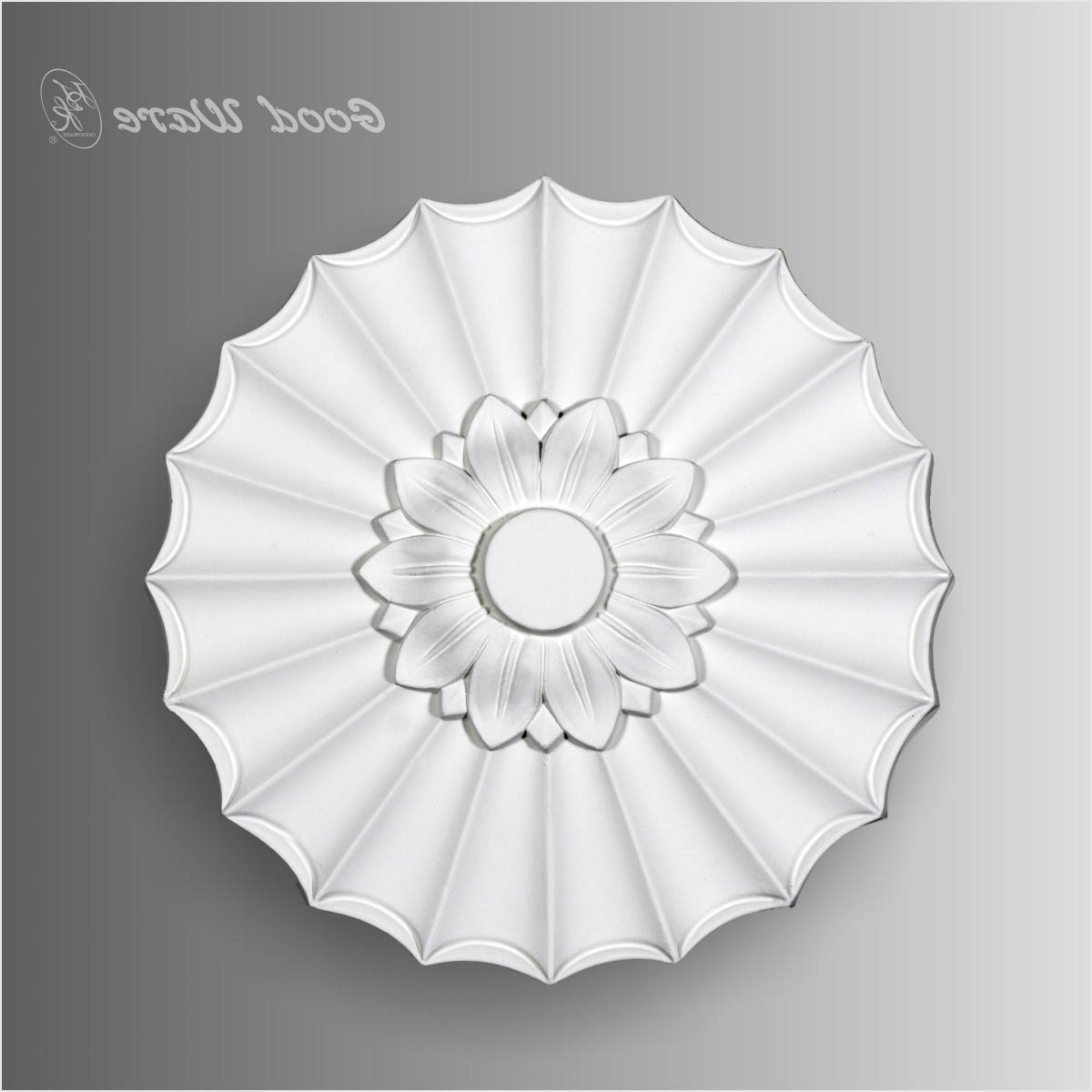 Small Polyurethane Ceiling Medallion Wall Decor European, Ceiling Within Well Known Small Medallion Wall Decor (View 17 of 20)
