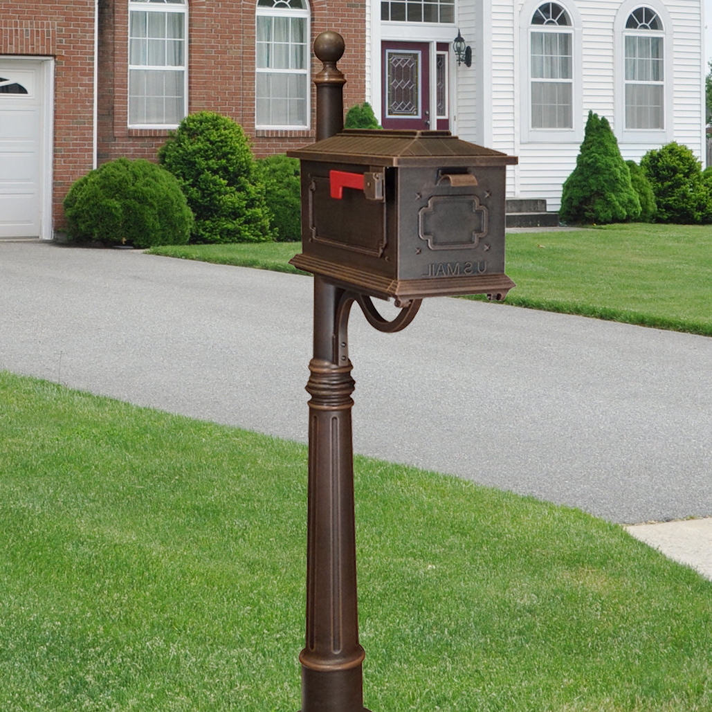 Special Lite Products Kingston Mailbox With Post Included (View 13 of 20)