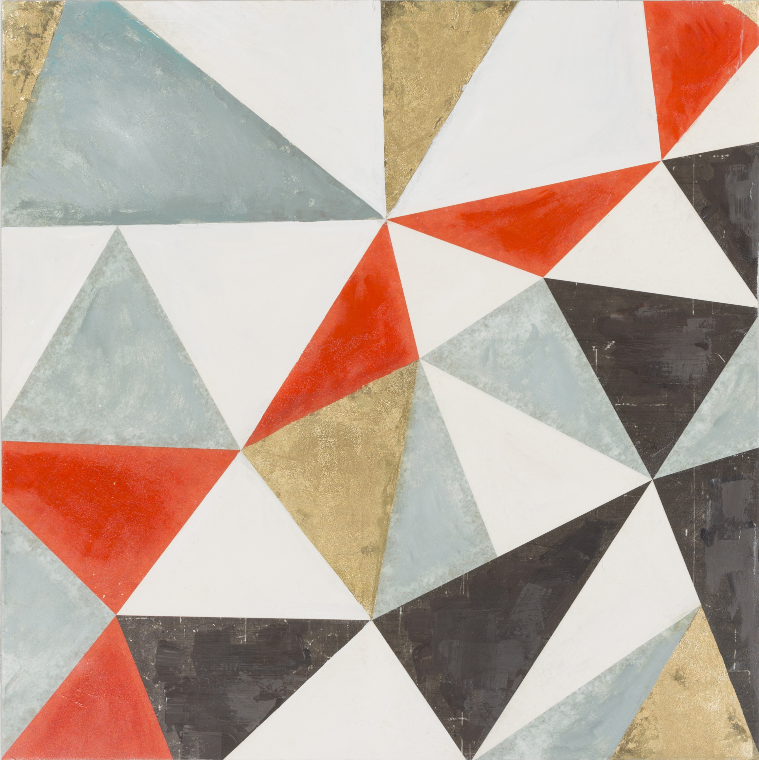 Stanley Contemporary Geometric Wall Art (w 40 X H 50) (View 19 of 20)