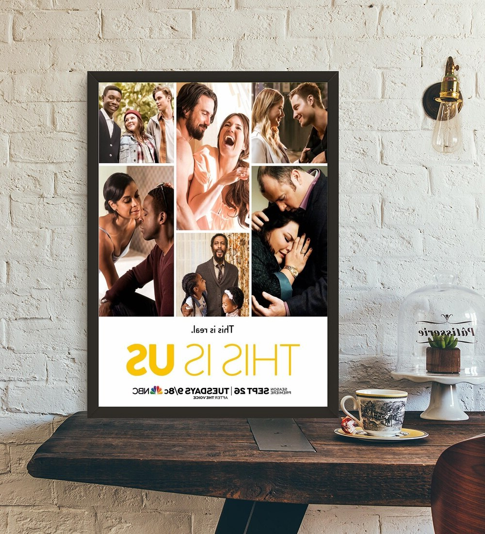 This Is Us Poster Tv Series Art Print Wall Art Wall Decor Silk With Regard To 2020 This Is Us Wall Decor (View 12 of 20)