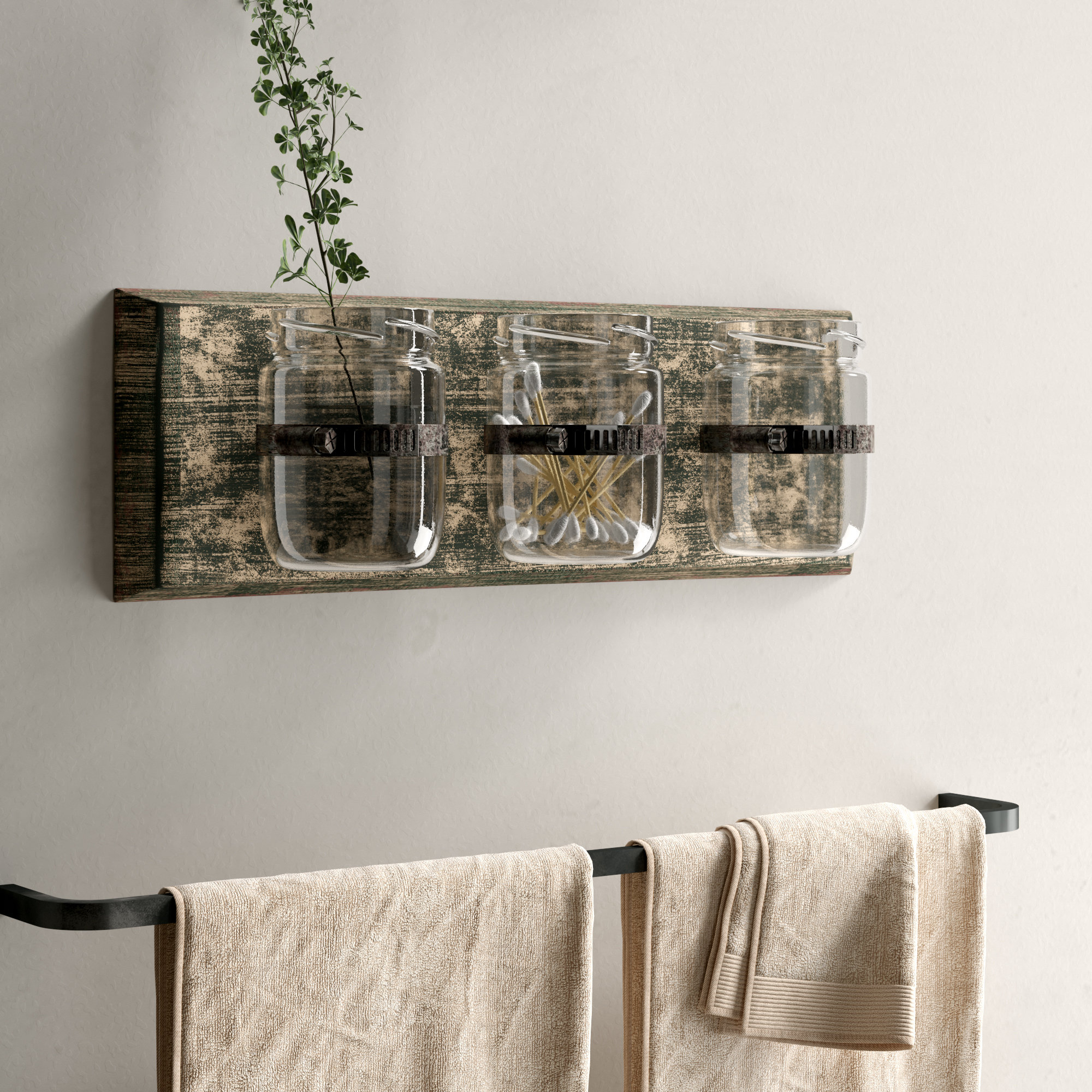 Three Glass Holder Wall Decor Inside Famous Laurel Foundry Modern Farmhouse Three Glass Holder Wall Décor (Gallery 1 of 20)