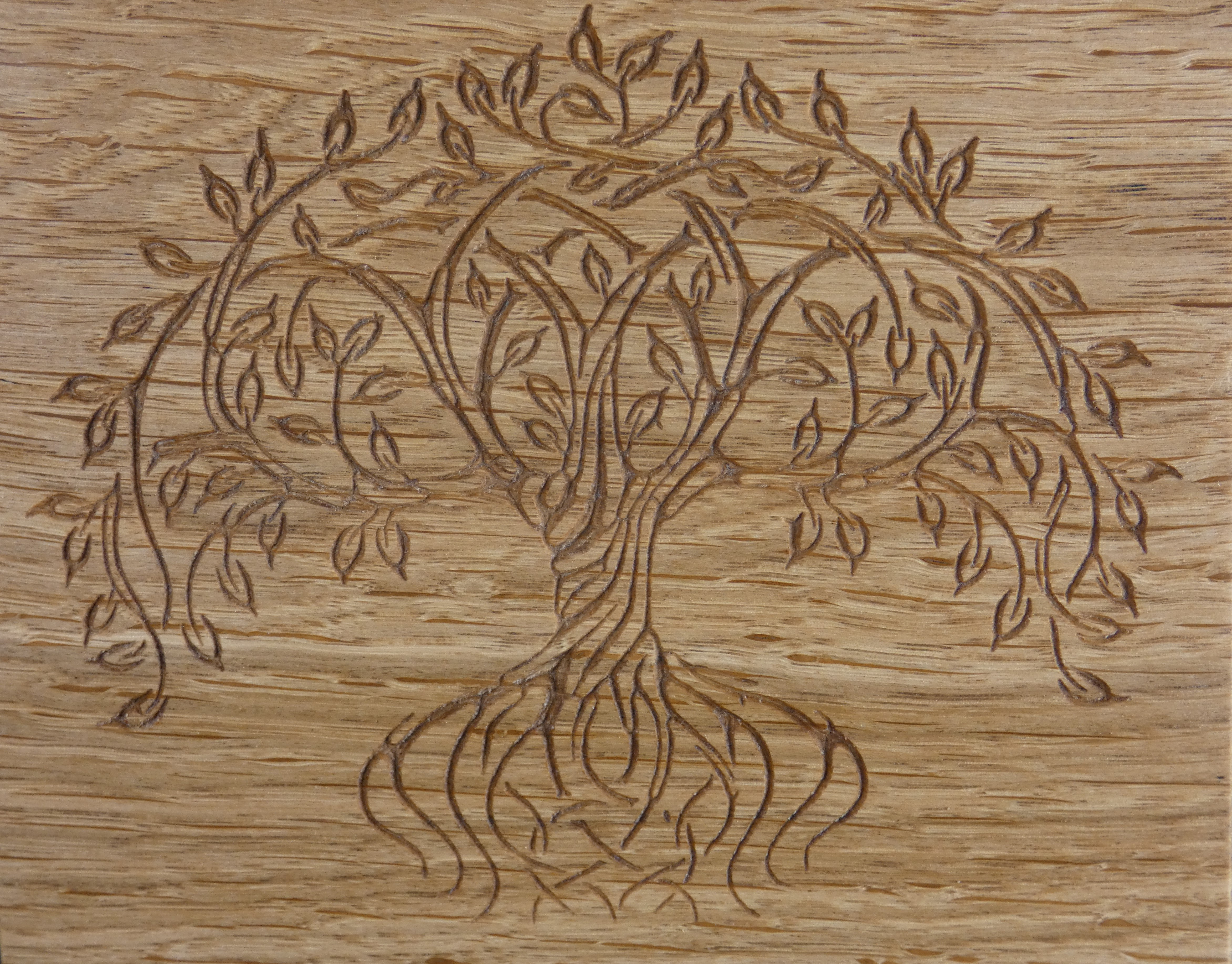Tree Of Life Wall Decor Throughout Fashionable Tree Of Life Wood Wall Art – The Grain Attraction (View 14 of 20)