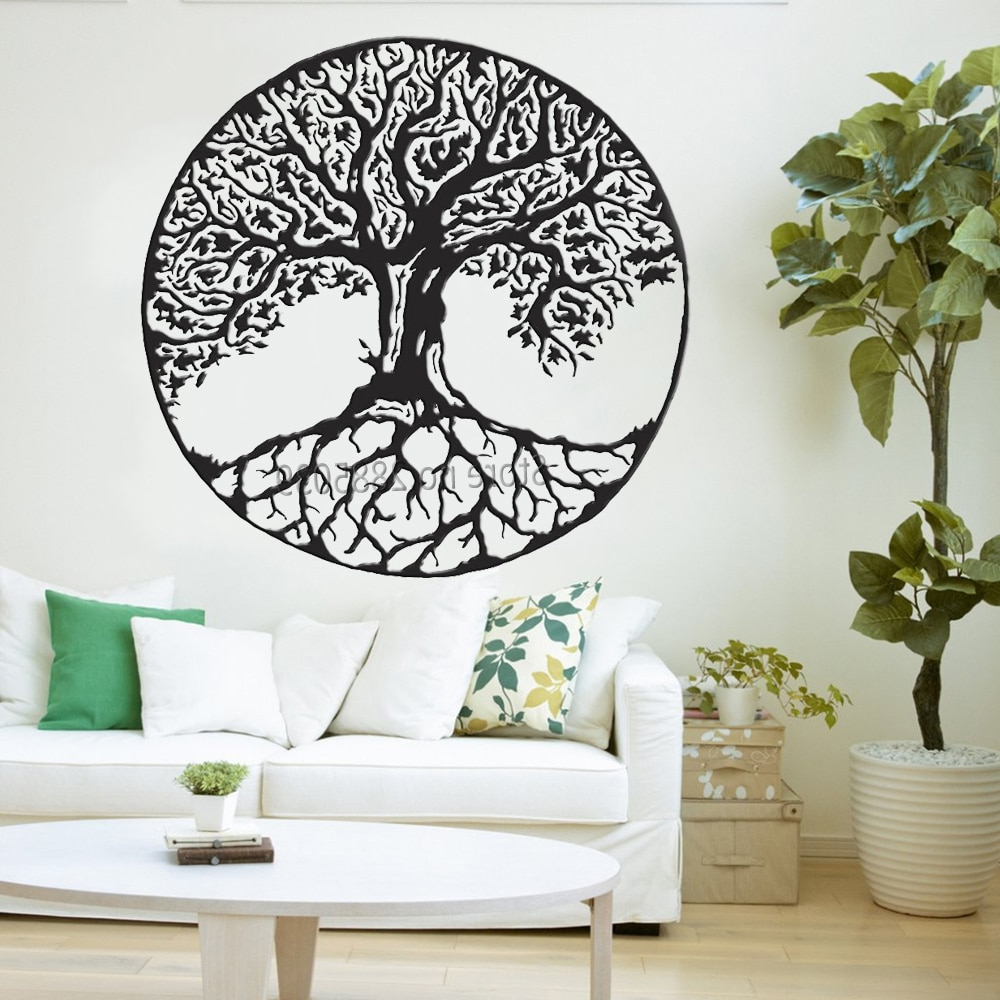 Tree Wall Decor In Trendy Tree Of Life Wall Decals Vinyl Large Tree Wall Stickers Trees Wall (Gallery 6 of 20)
