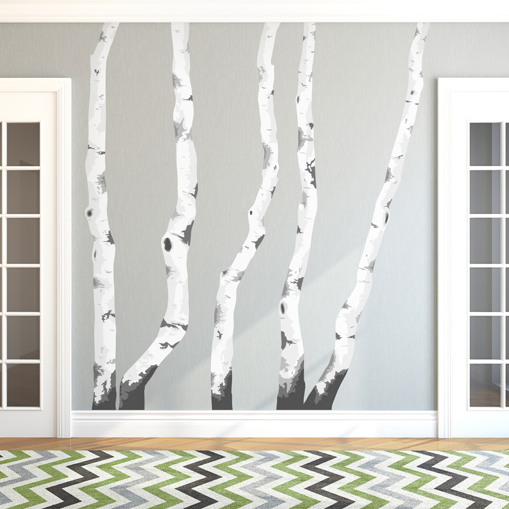 Tree Wall Decor Throughout Preferred Birch Trees Printed Wall Decal (View 15 of 20)