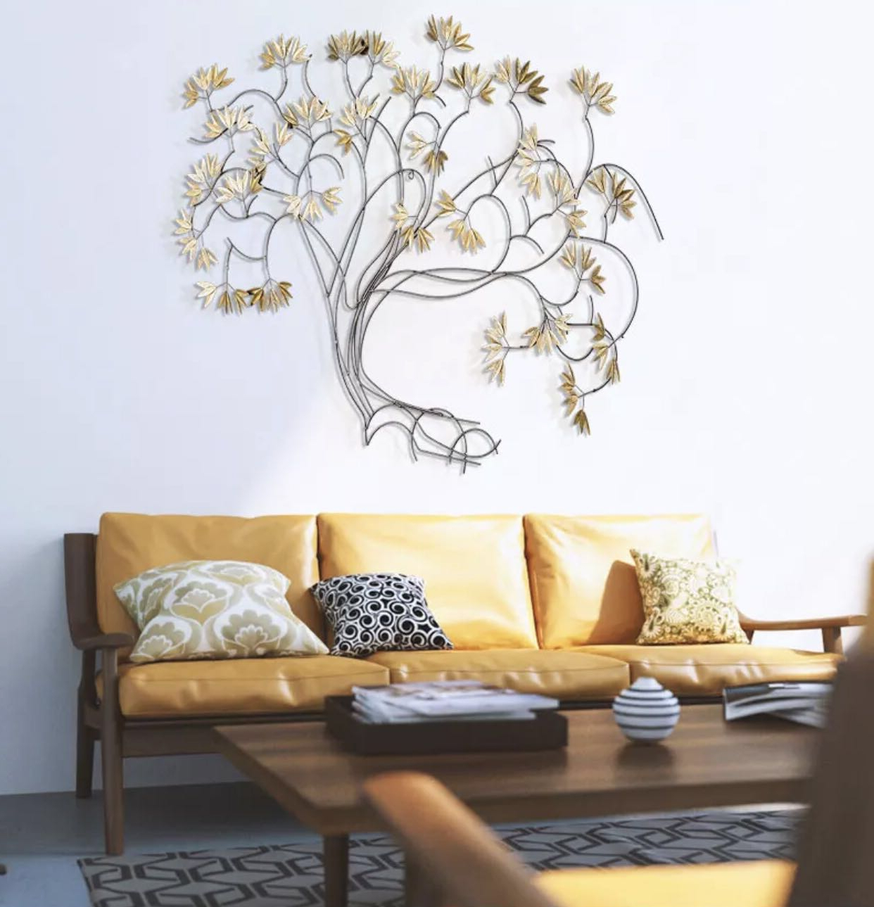 Trendy Raheem Flowers Metal Wall Decor Throughout Maple Leaves – Metal Wall Art Decor Painting, Furniture, Home Decor (Gallery 19 of 20)