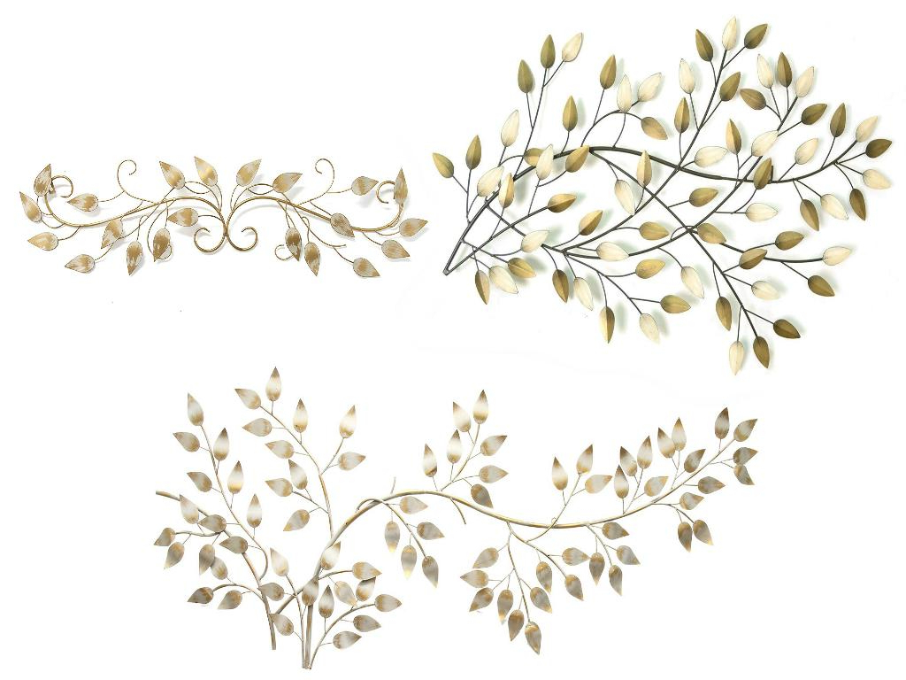 Trendy Stratton Home Decor Stratton Home Blowing Leaves Wall Decor, Brushed Inside Flowing Leaves Wall Decor (View 19 of 20)