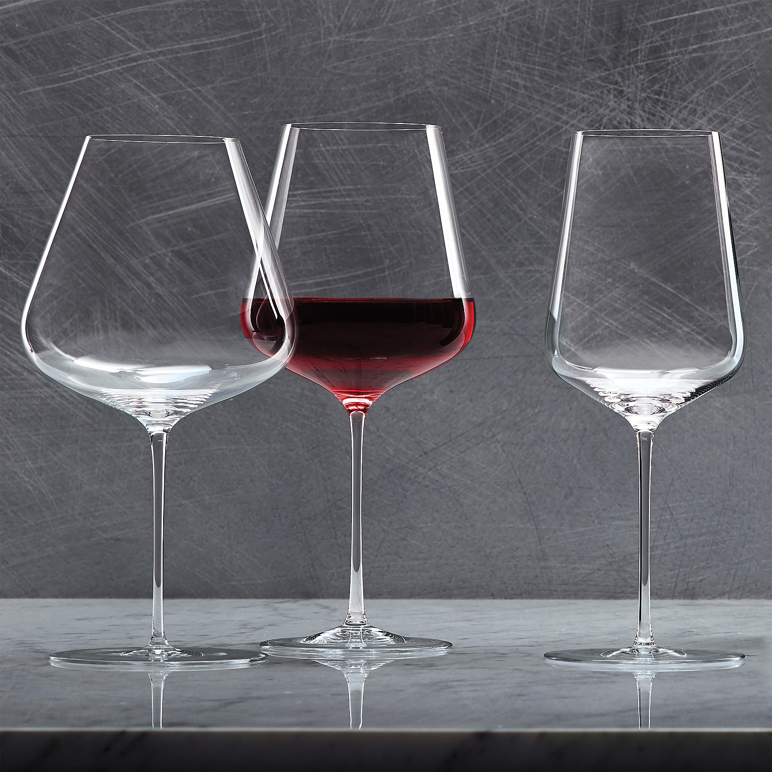 Trendy Zalto Denk'art Three Pack Wine Glass Set – Wine Enthusiast With Regard To Three Glass Holder Wall Decor (View 18 of 20)